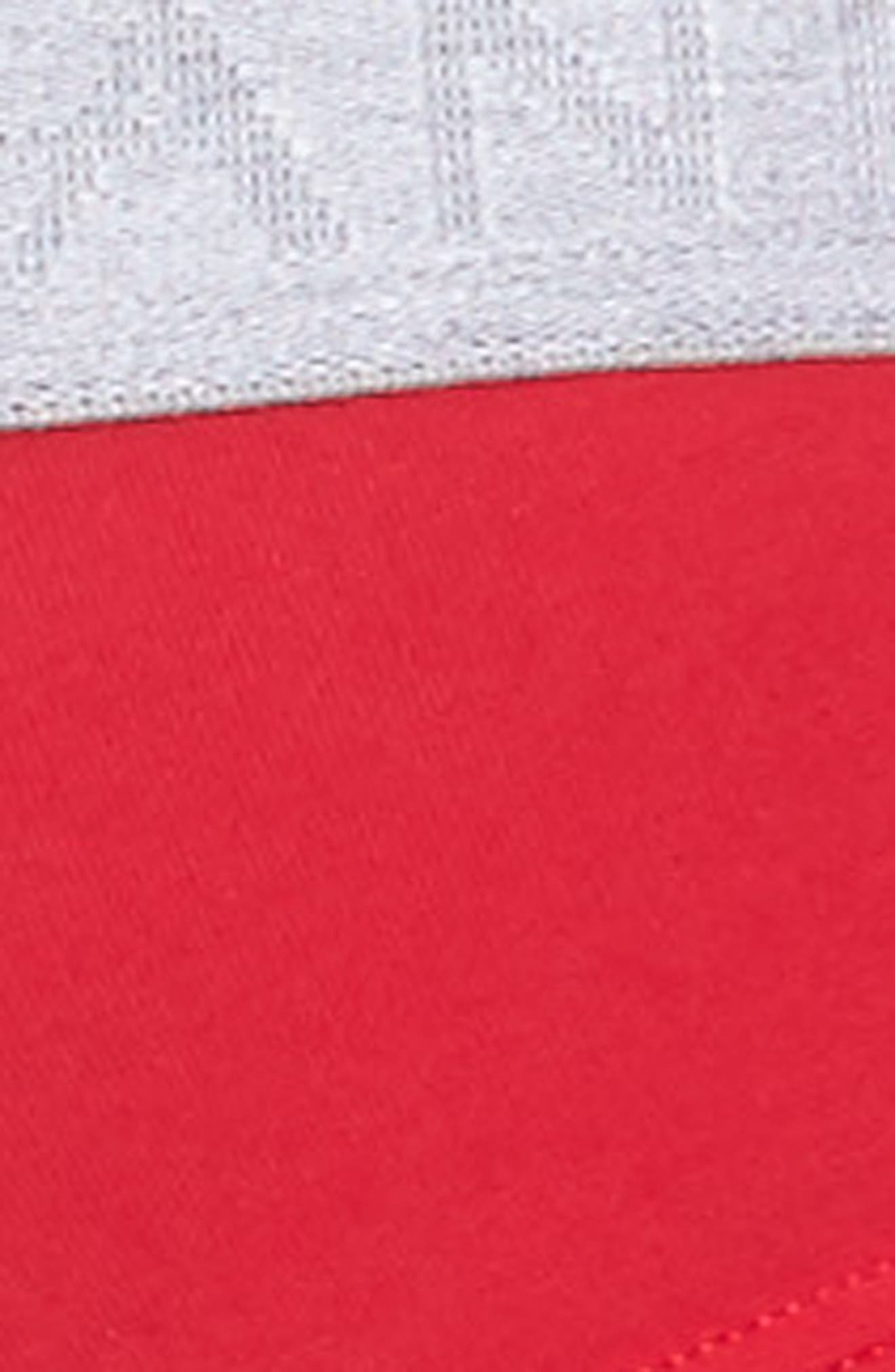 Cotton Essentials 2-Pack Briefs,                             Alternate thumbnail 5, color,                             Black Iris/ Laque