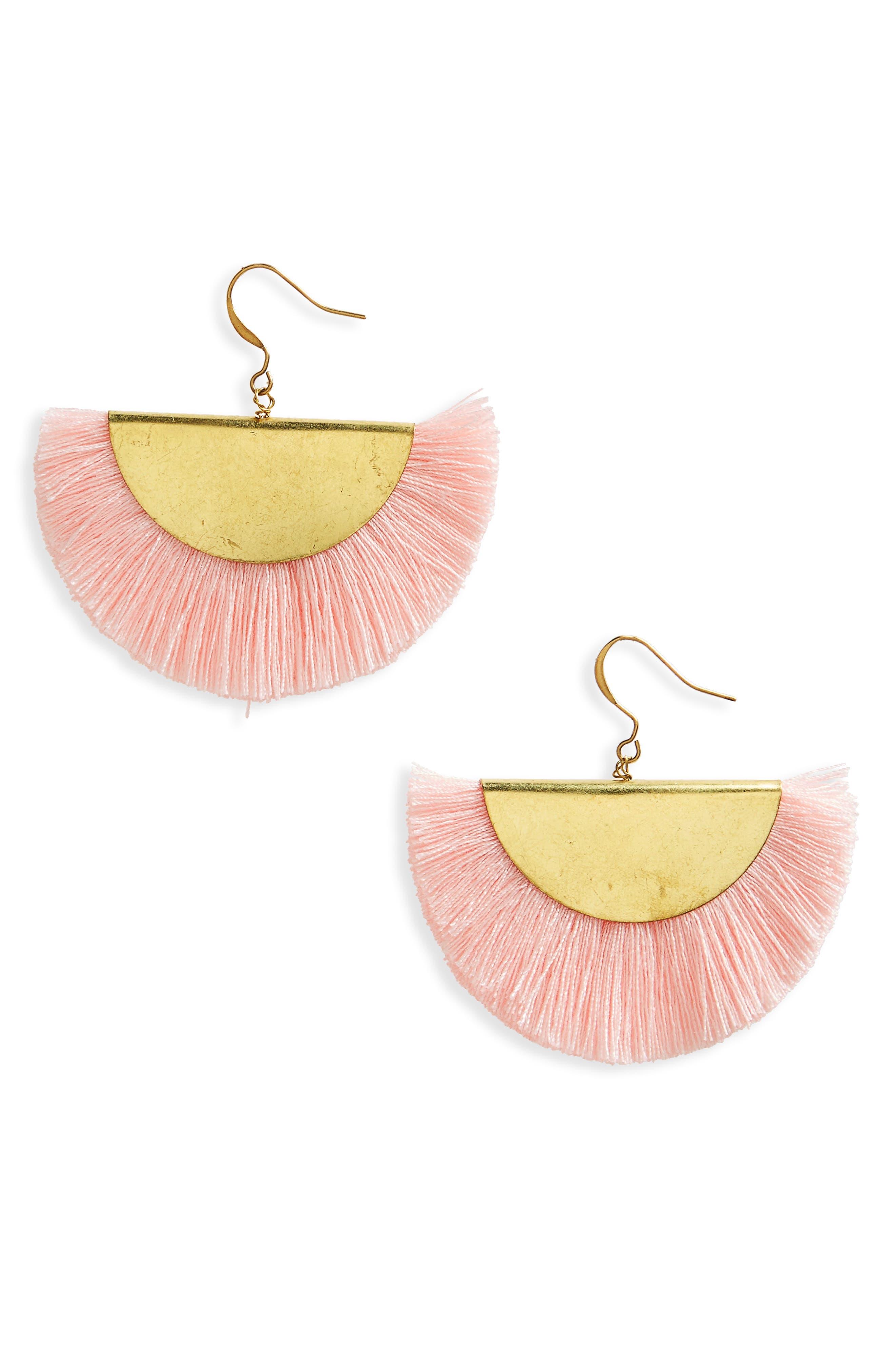 Main Image - Panacea Fan Earrings