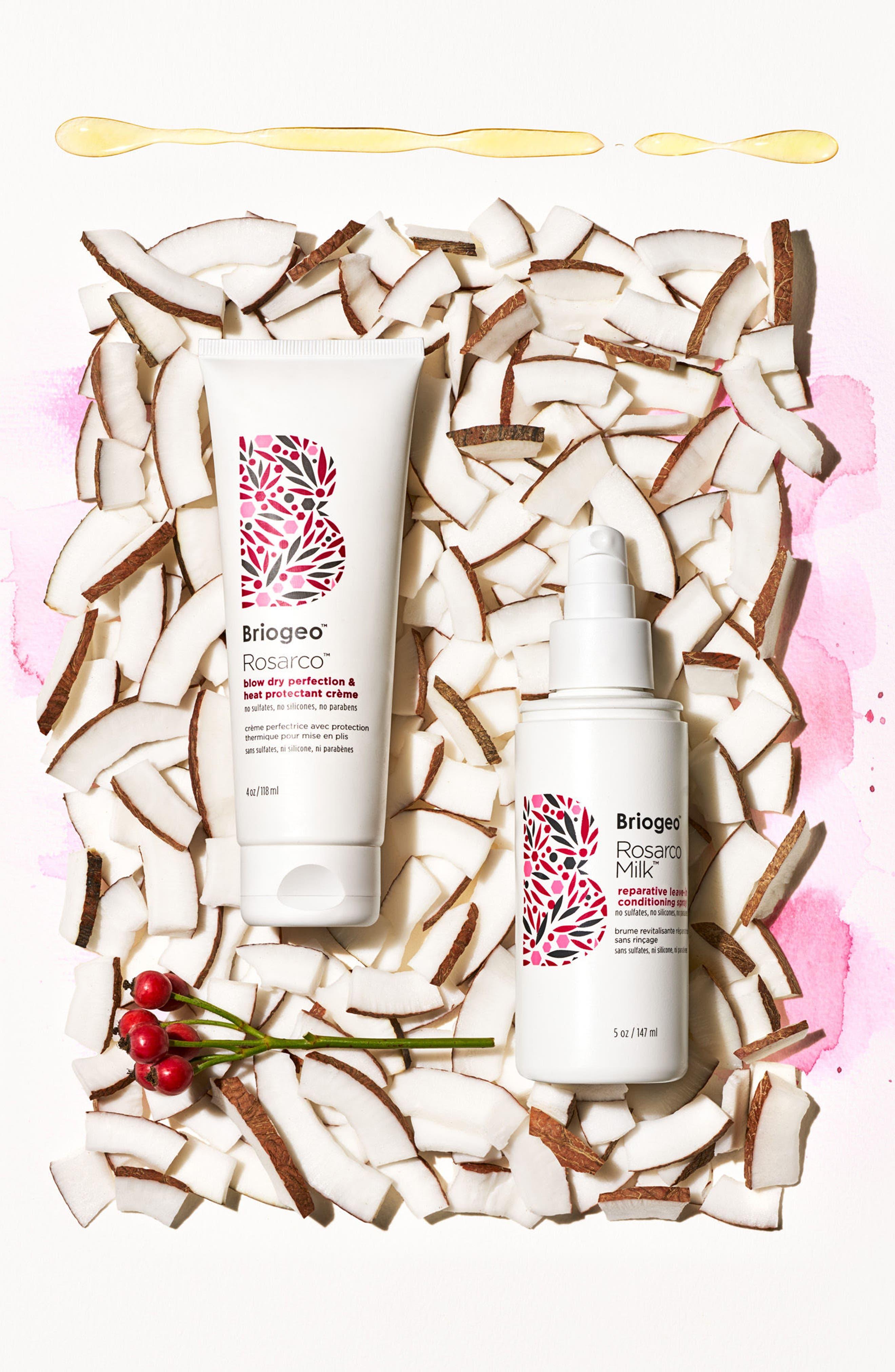 Rosarco<sup>™</sup> Blow Dry Perfection Heat Protectant Crème,                             Alternate thumbnail 2, color,                             No Color