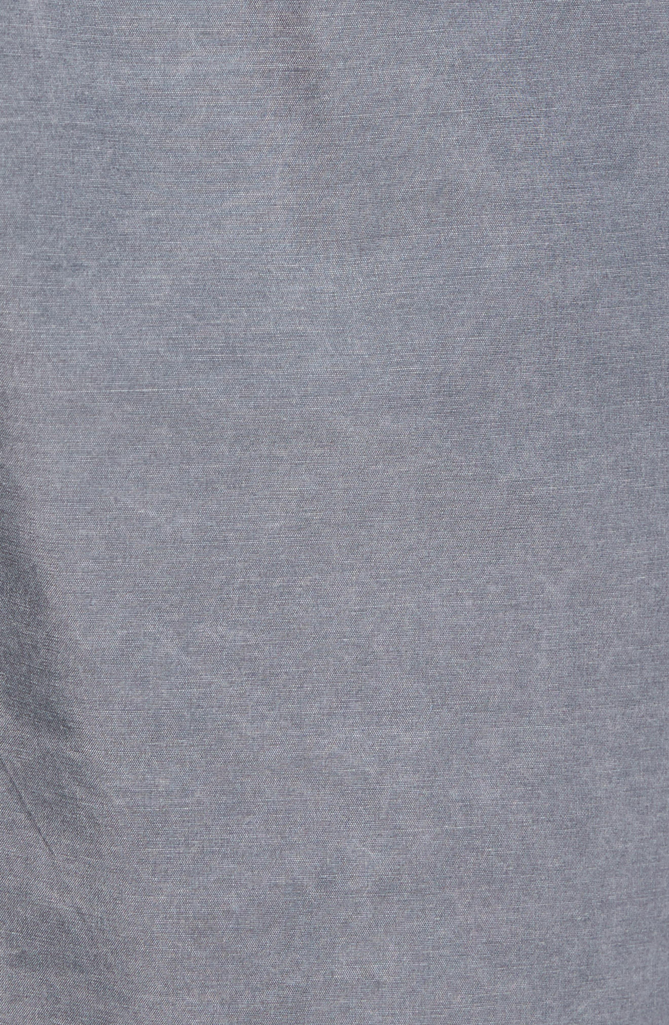 Victor Swim Trunks,                             Alternate thumbnail 5, color,                             Slate Grey
