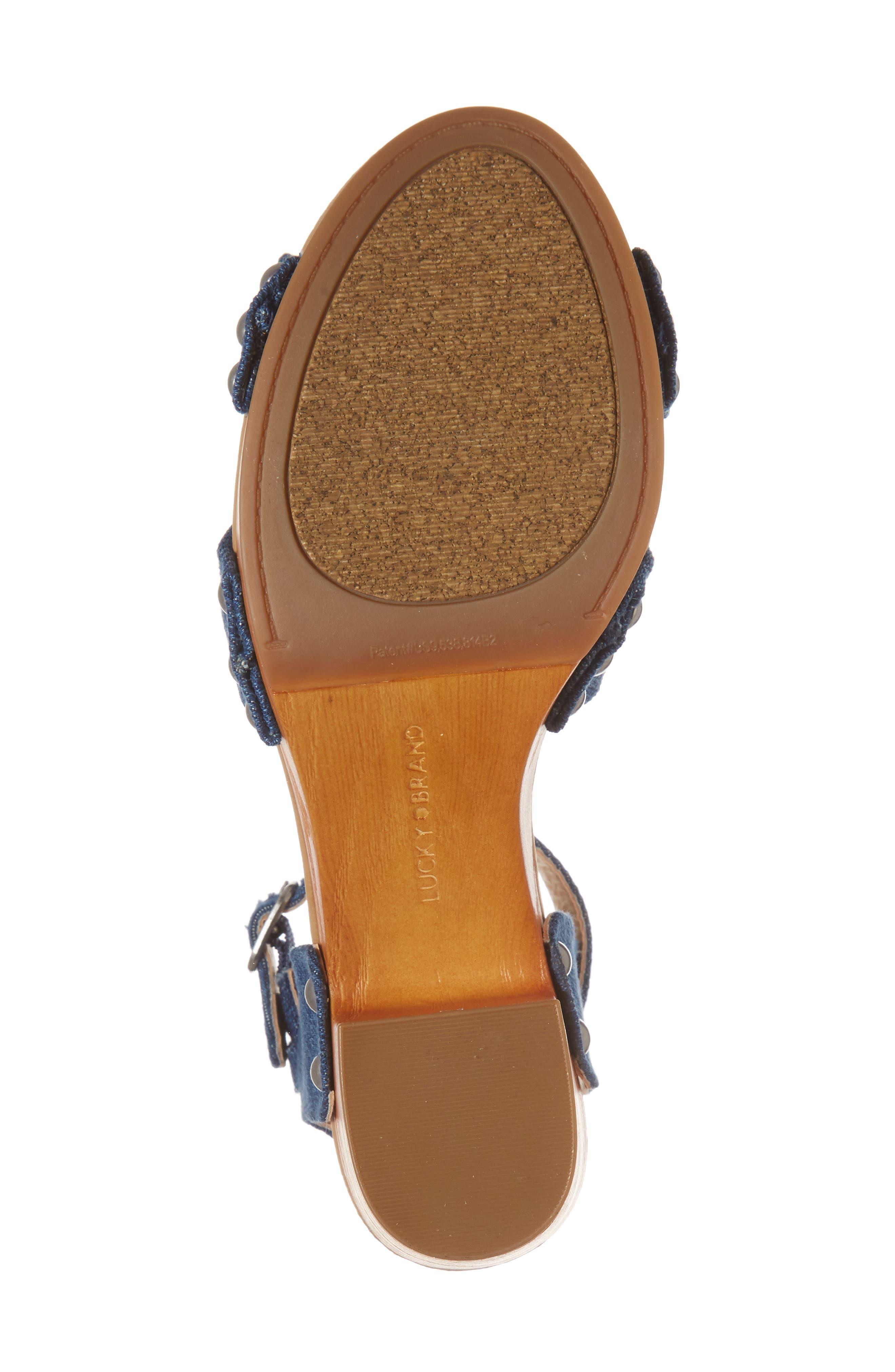 Alternate Image 6  - Lucky Brand Whitneigh Sandal (Women)
