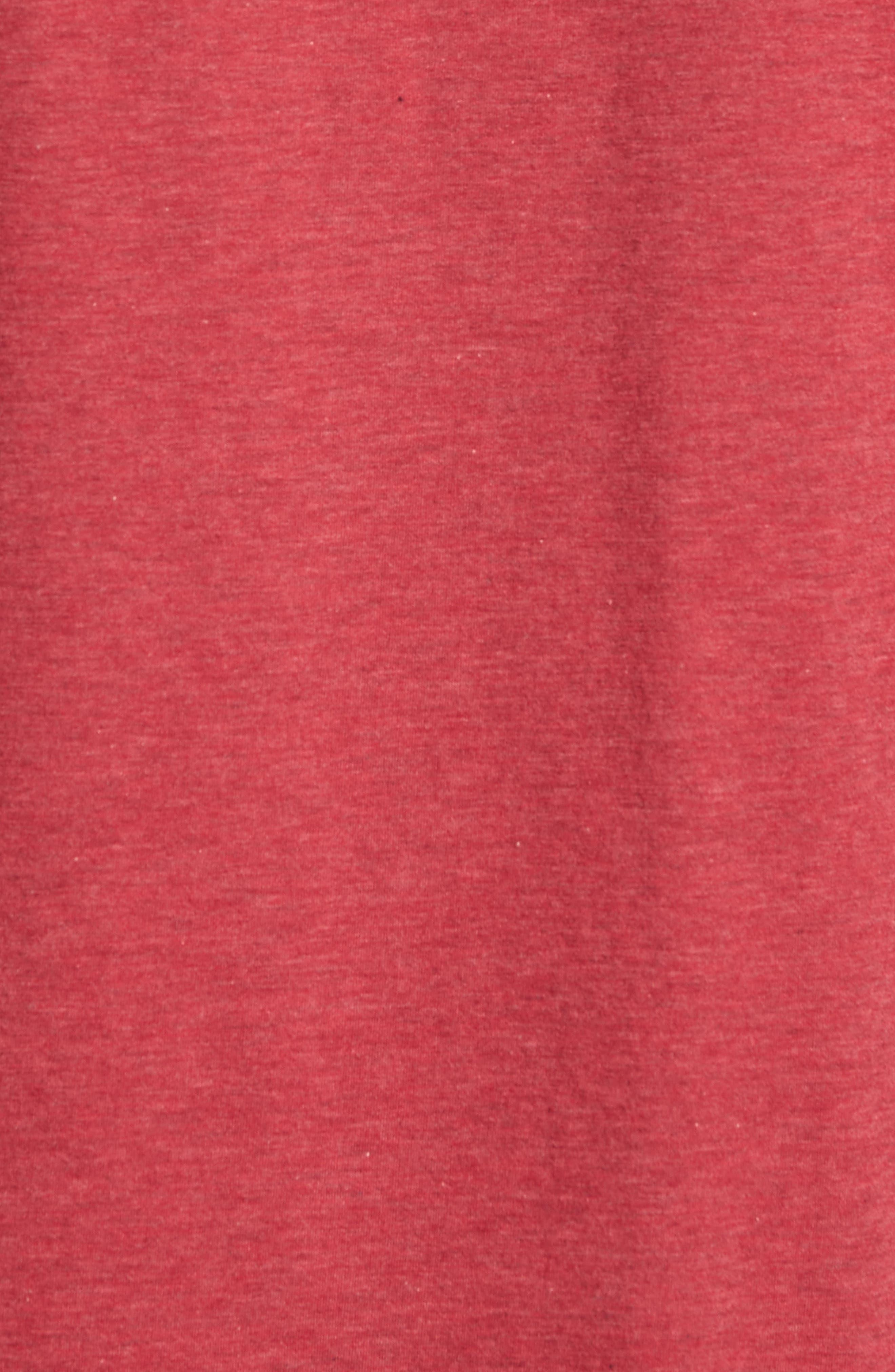 Hedrick T-Shirt,                             Alternate thumbnail 5, color,                             Heather Ox Blood