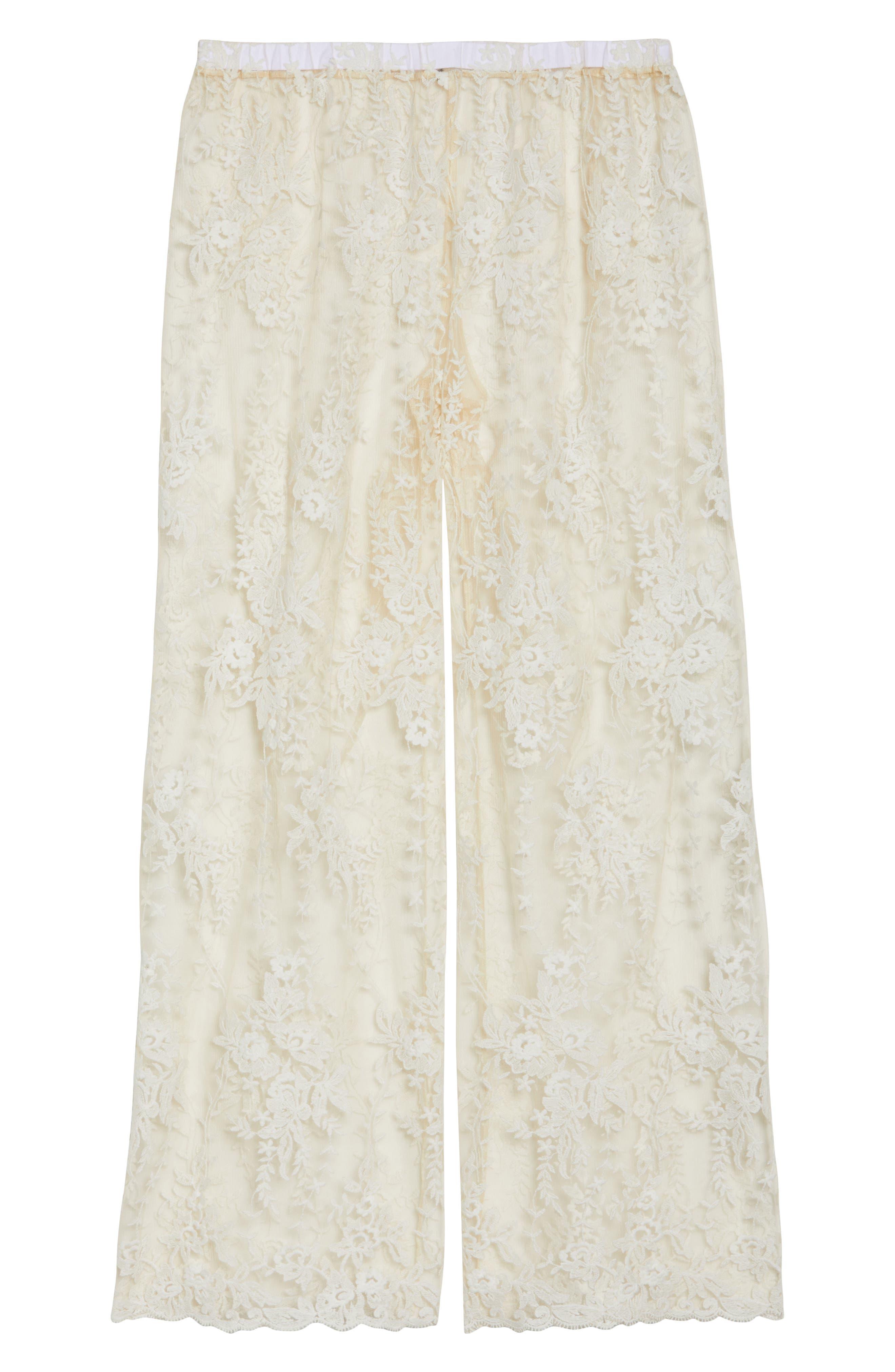 Rosie Pants,                             Alternate thumbnail 4, color,                             Moon Ivory