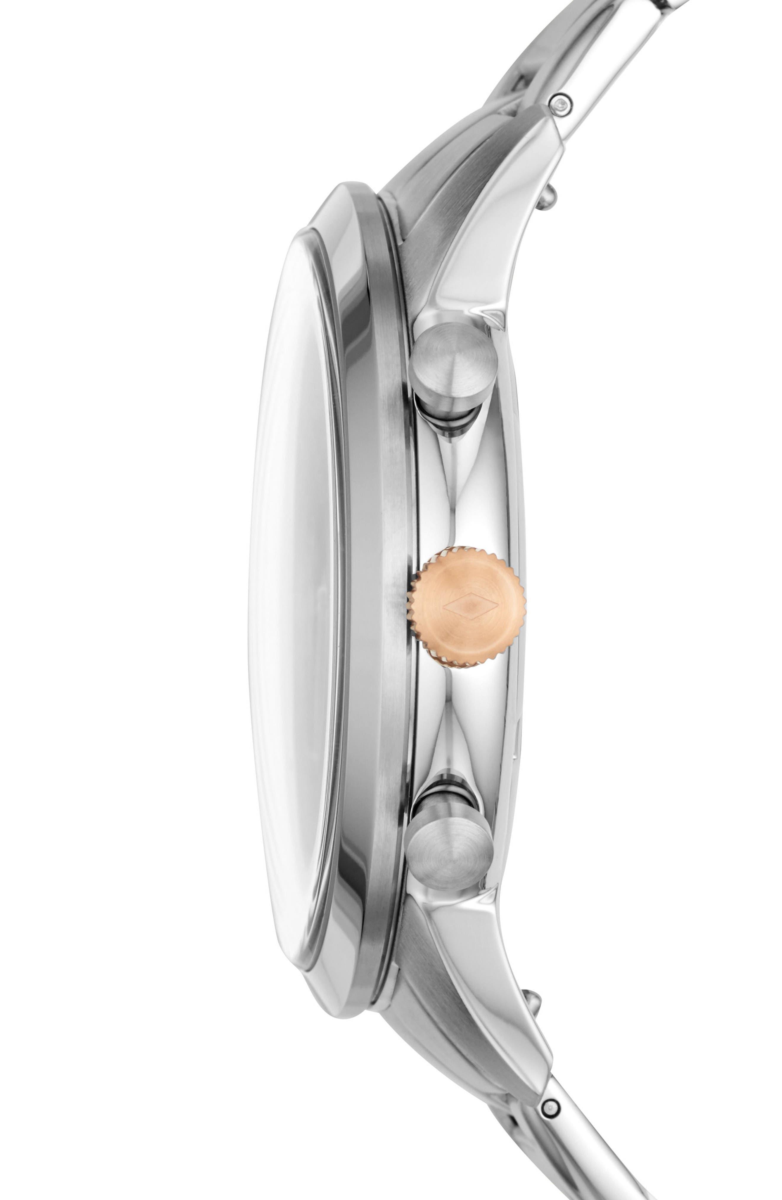 Townsman Chronograph Bracelet Watch, 44mm,                             Alternate thumbnail 2, color,                             Silver/ Grey/ Silver