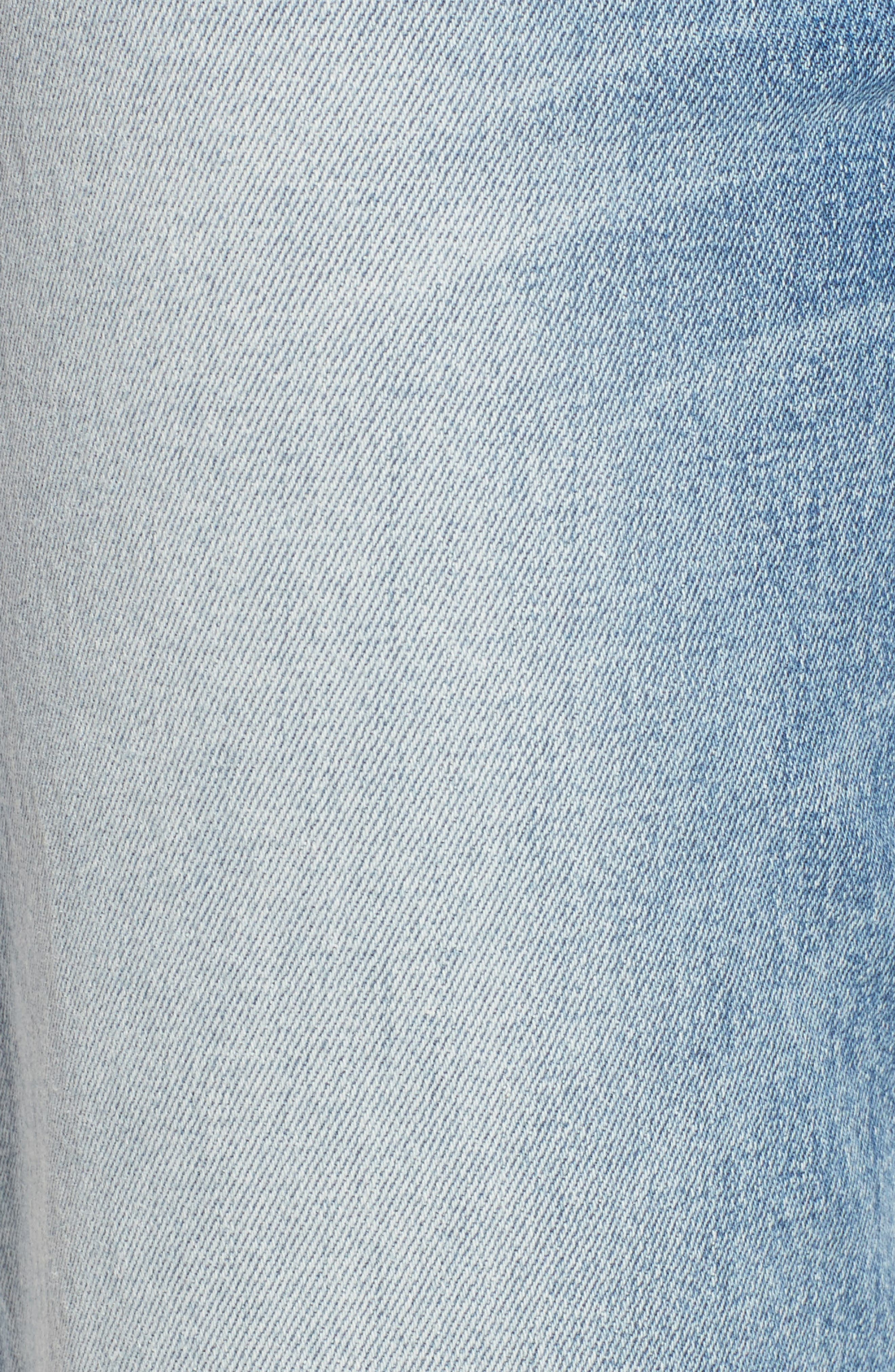 Alternate Image 5  - Hudson Jeans Zoeey High Waist Ankle Straight Leg Jeans