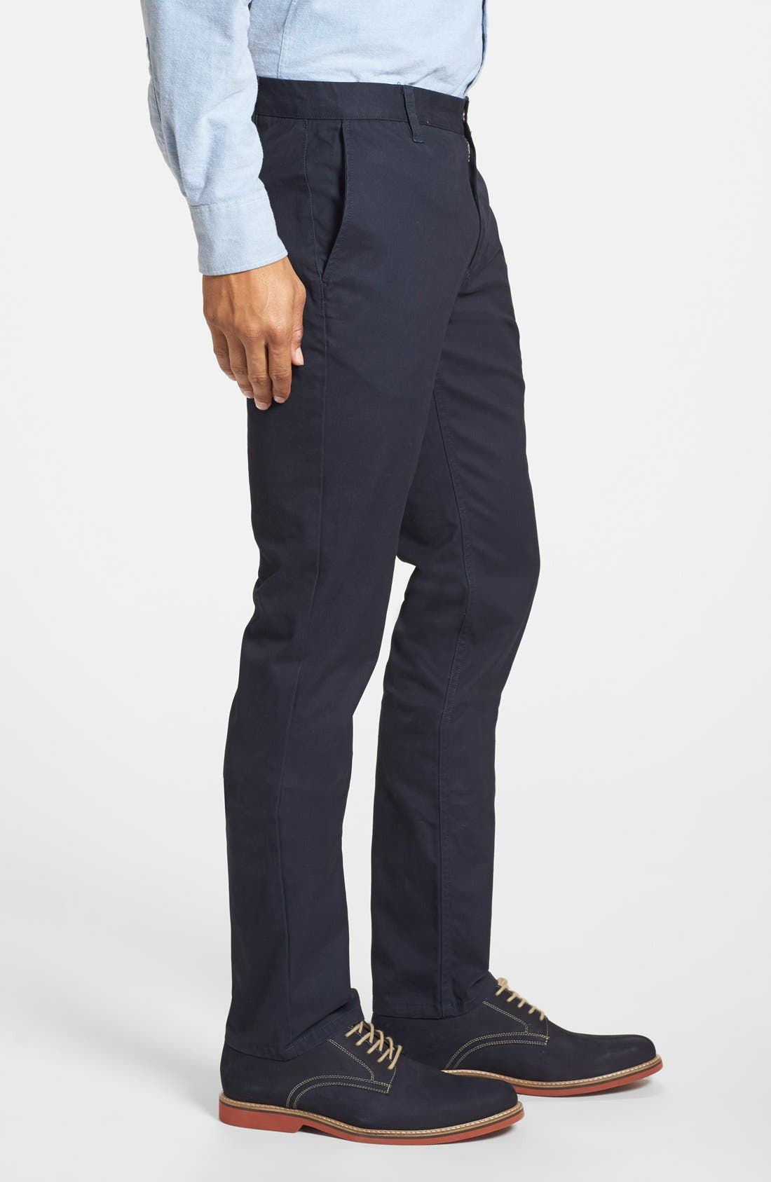 Alternate Image 3  - Bonobos Tailored Fit Washed Chinos