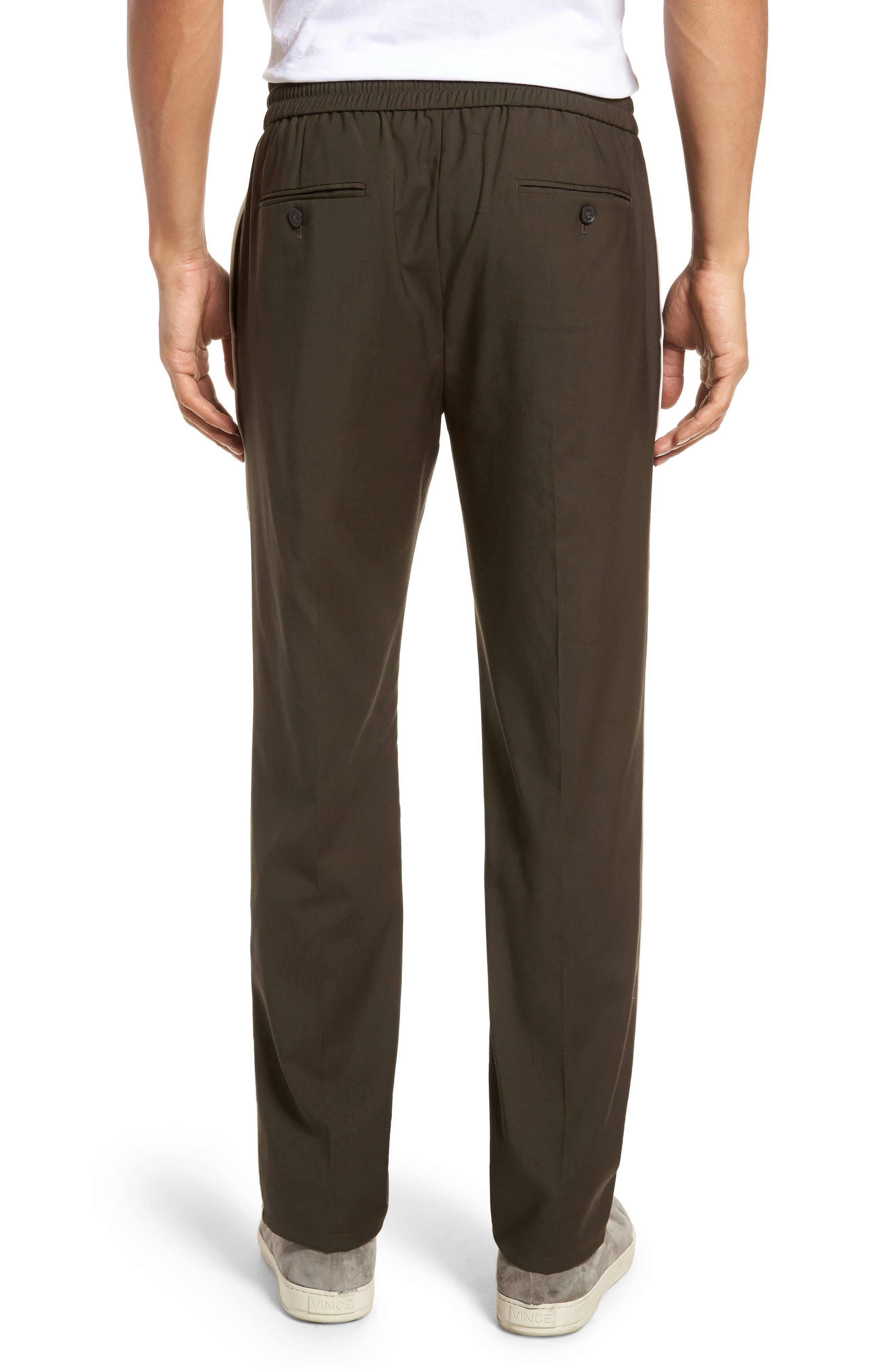 Regular Fit Track Pants,                             Alternate thumbnail 2, color,                             Fatigue