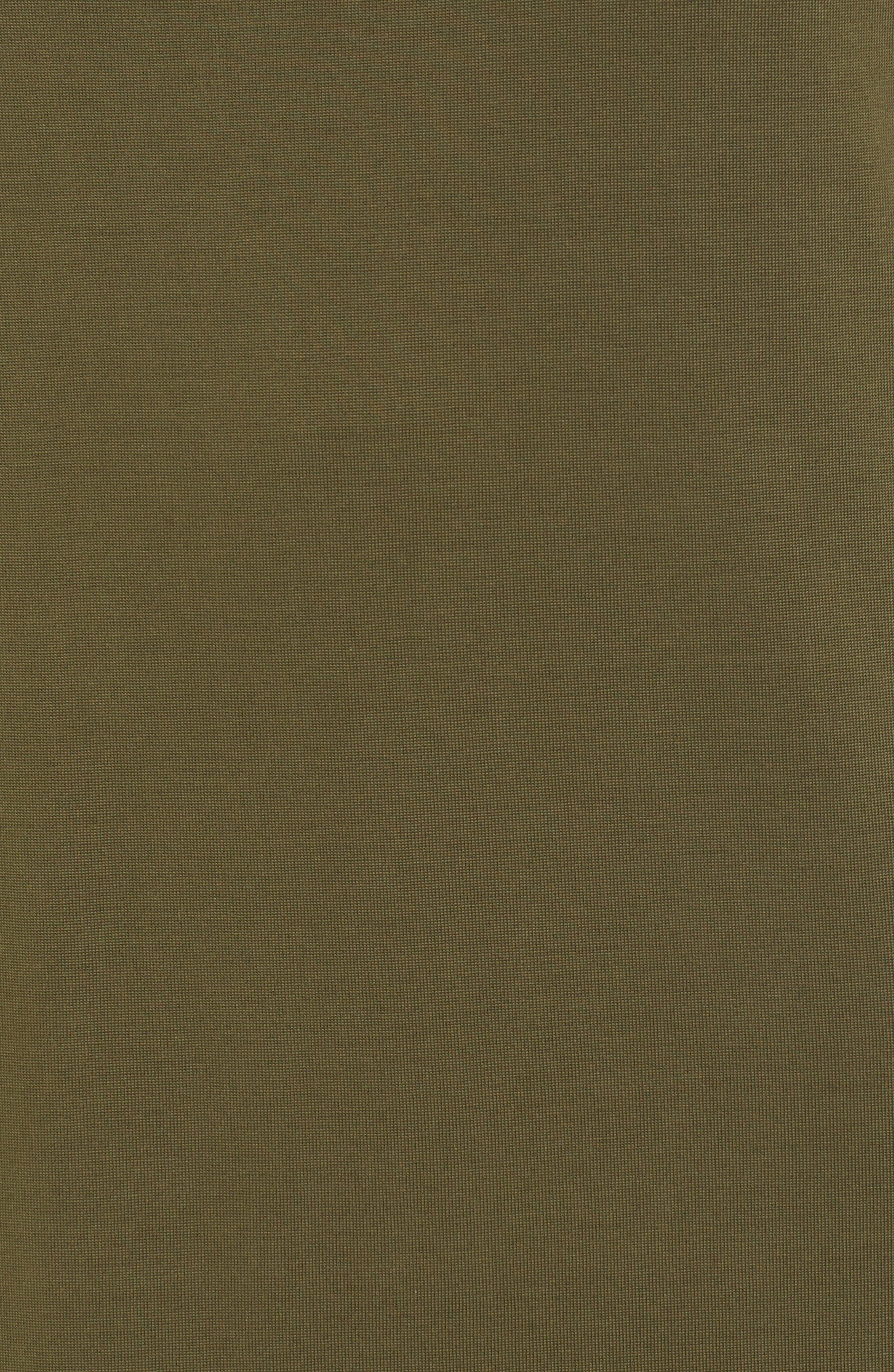 High Slit Maxi Dress,                             Alternate thumbnail 5, color,                             Olive Sarma