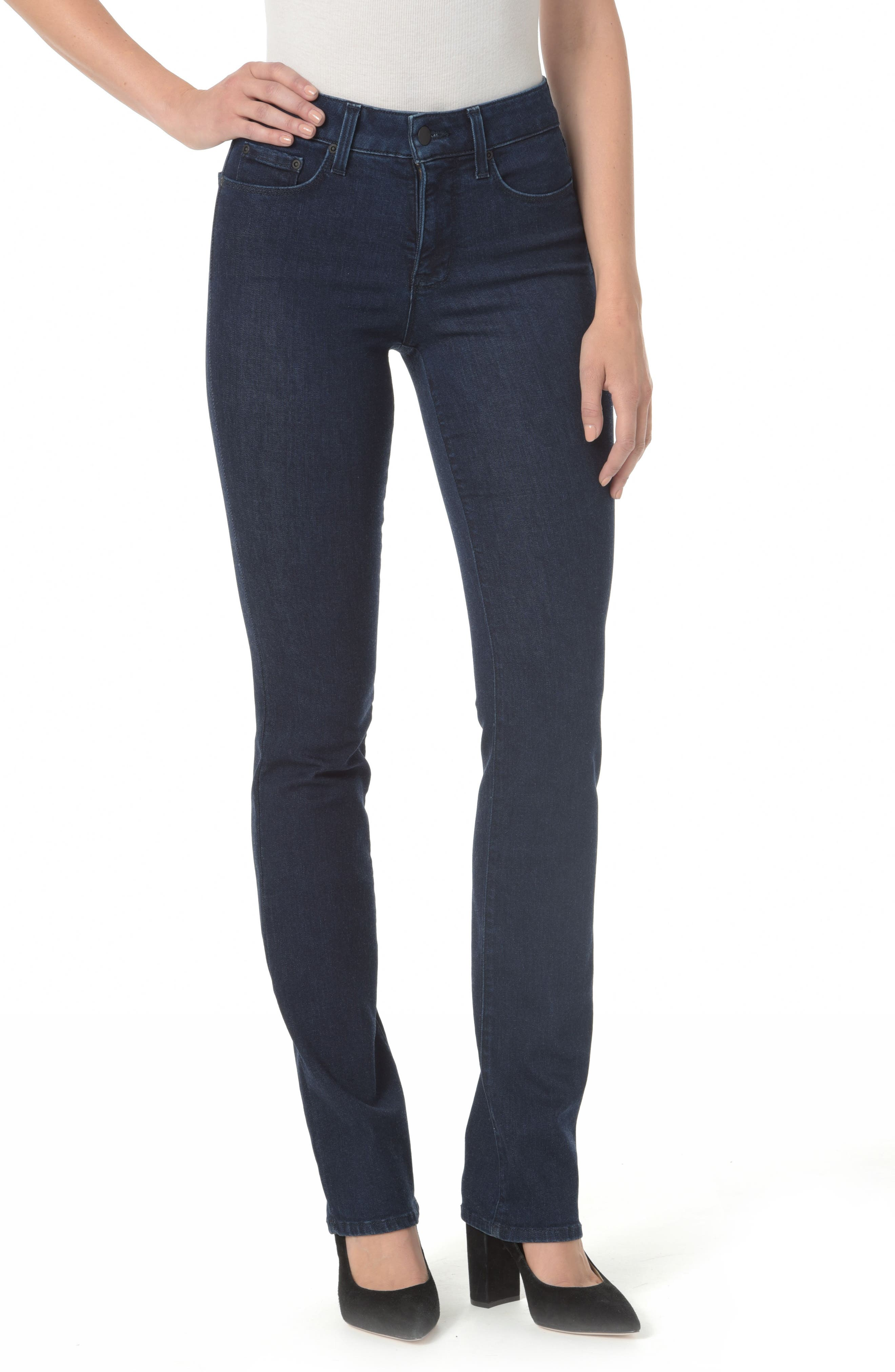 Marilyn Straight Leg Jeans,                         Main,                         color, Rinse