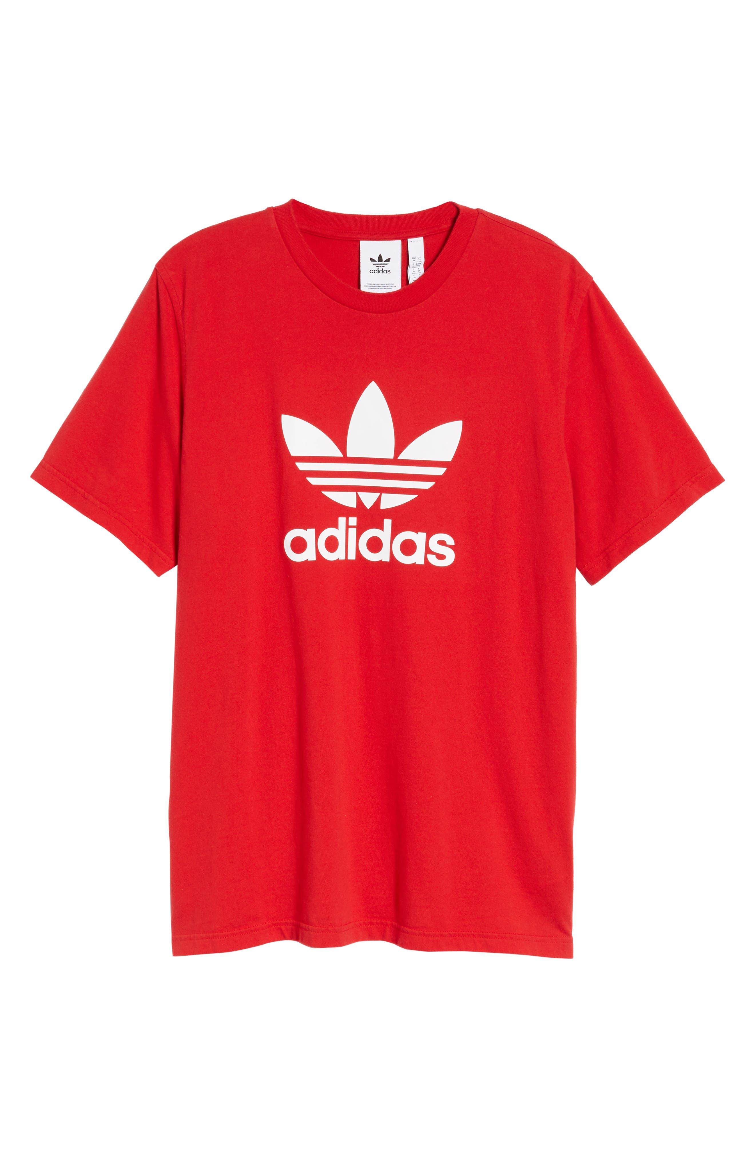 Alternate Image 6  - adidas Originals Trefoil T-Shirt