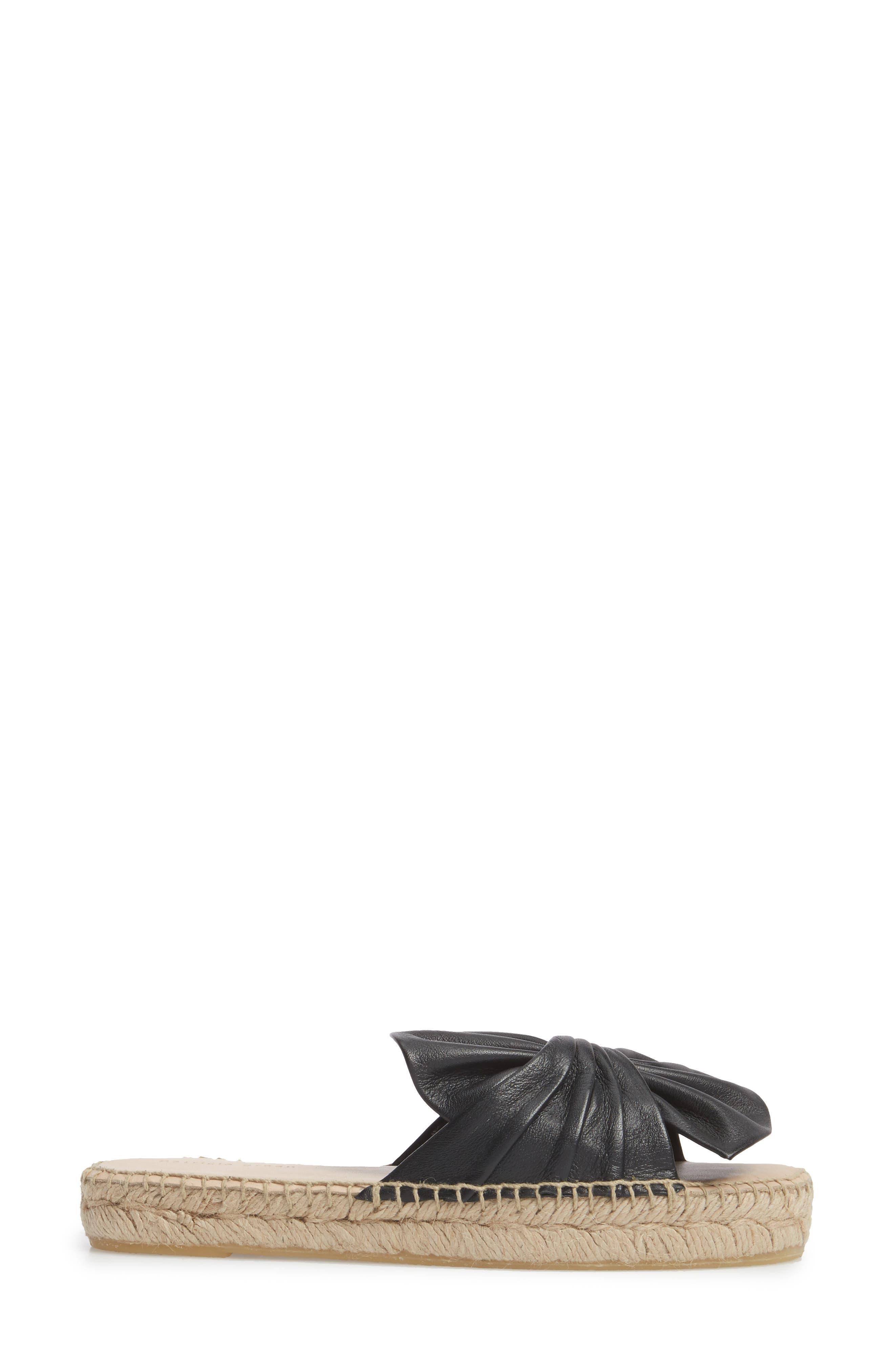 Alternate Image 3  - patricia green Belinda Bow Espadrille Slide Sandal (Women)