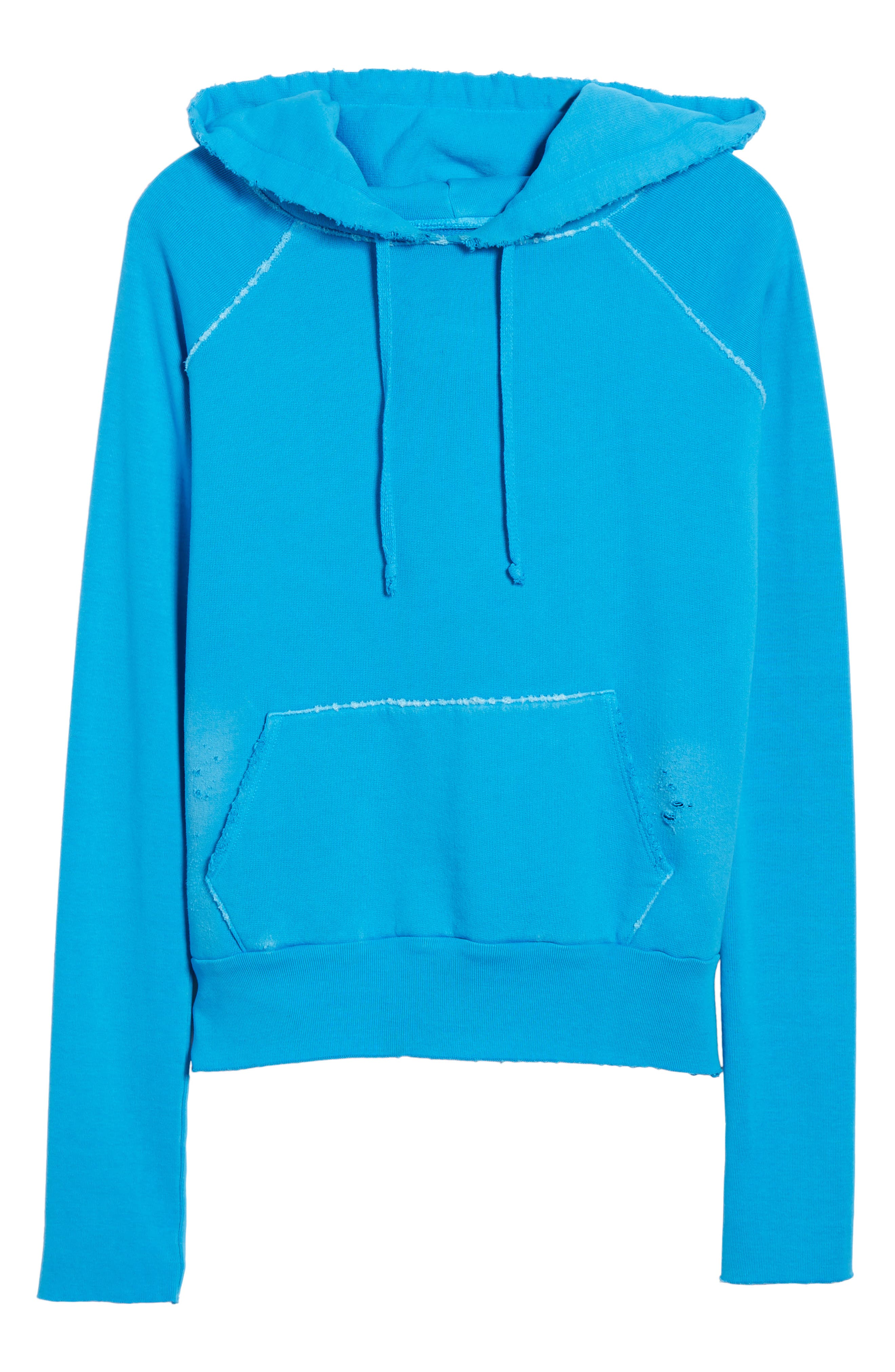 Tee Lab Pullover Hoodie,                             Alternate thumbnail 7, color,                             Highlighter 5 Year Vntge Wsh