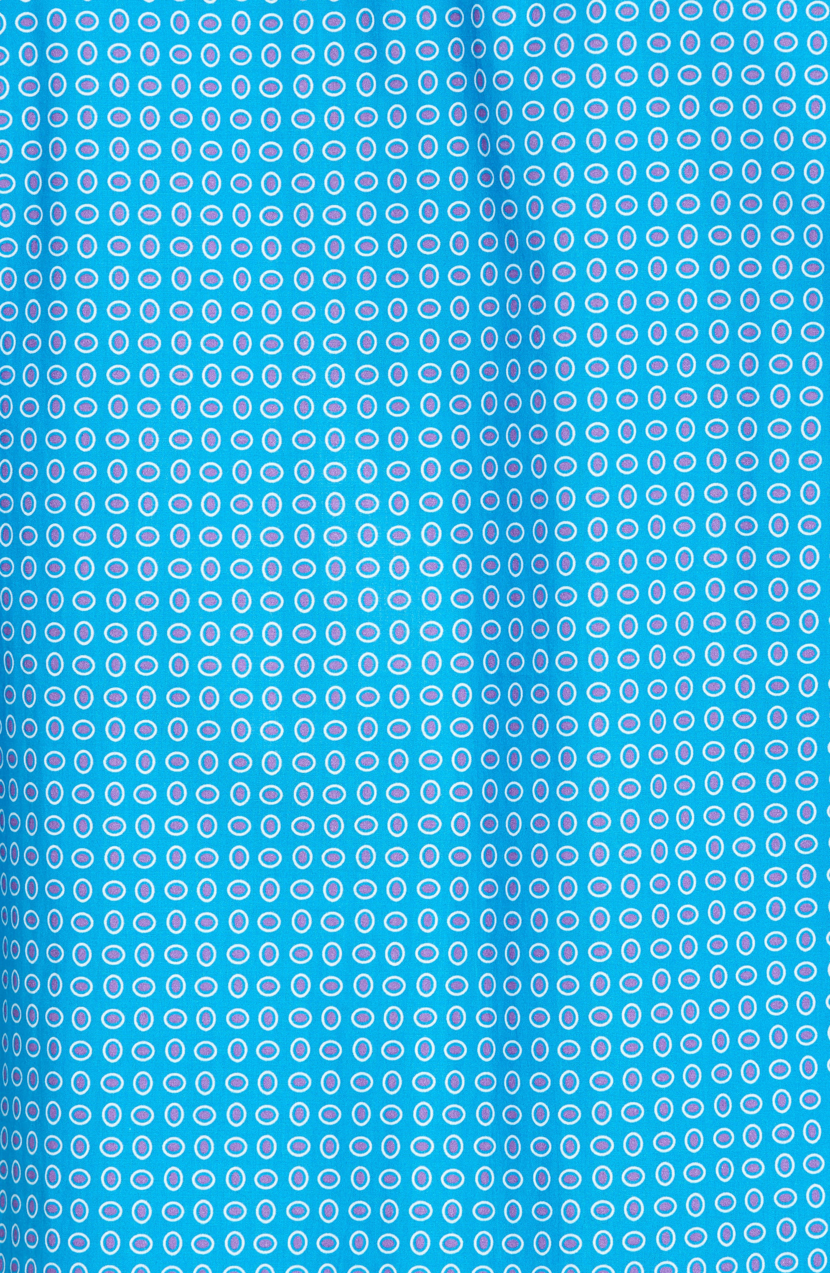 Woven Sport Shirt,                             Alternate thumbnail 5, color,                             Turquoise