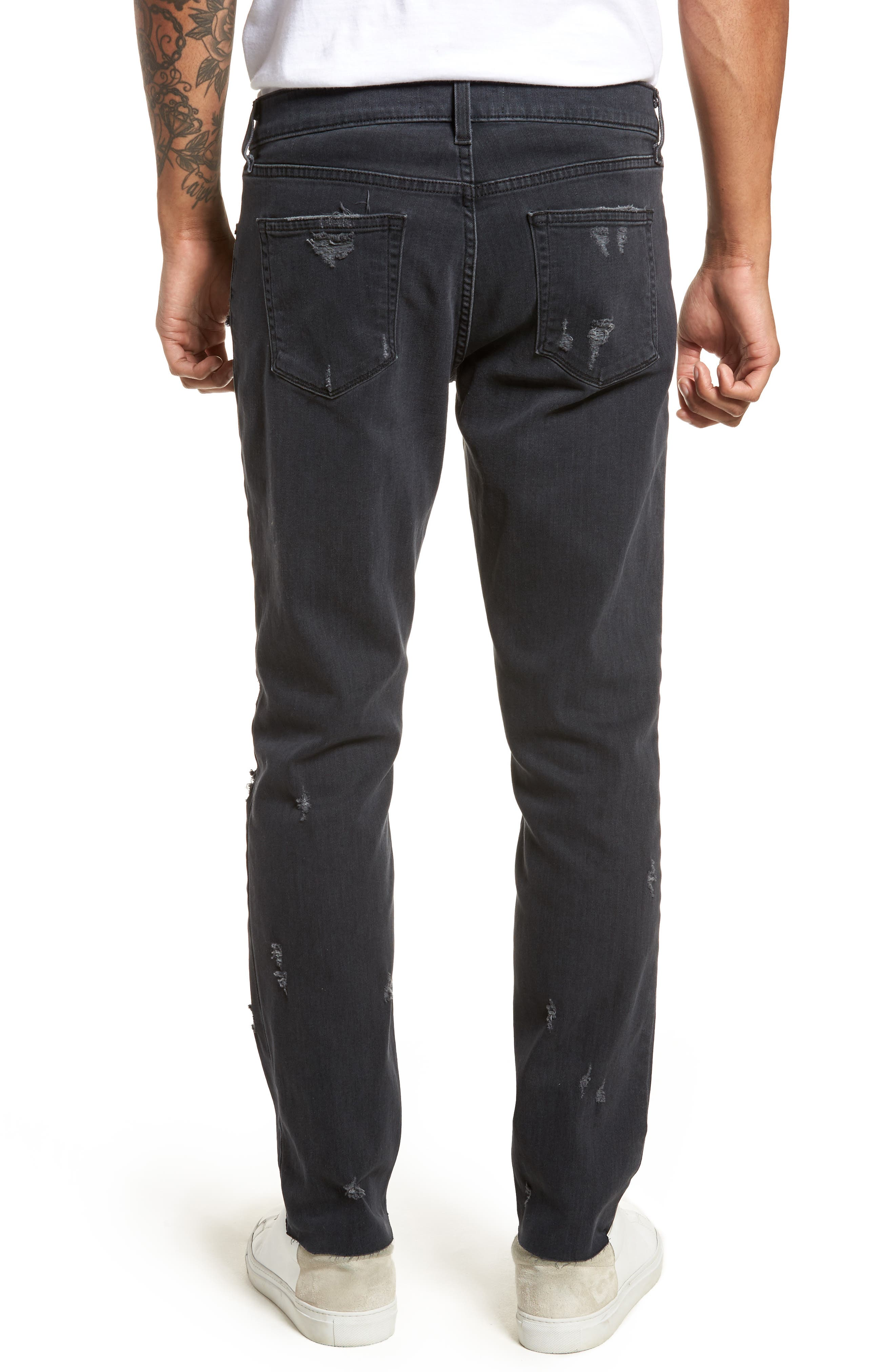 Tyler Slim Fit Jeans,                             Alternate thumbnail 2, color,                             Glauconite