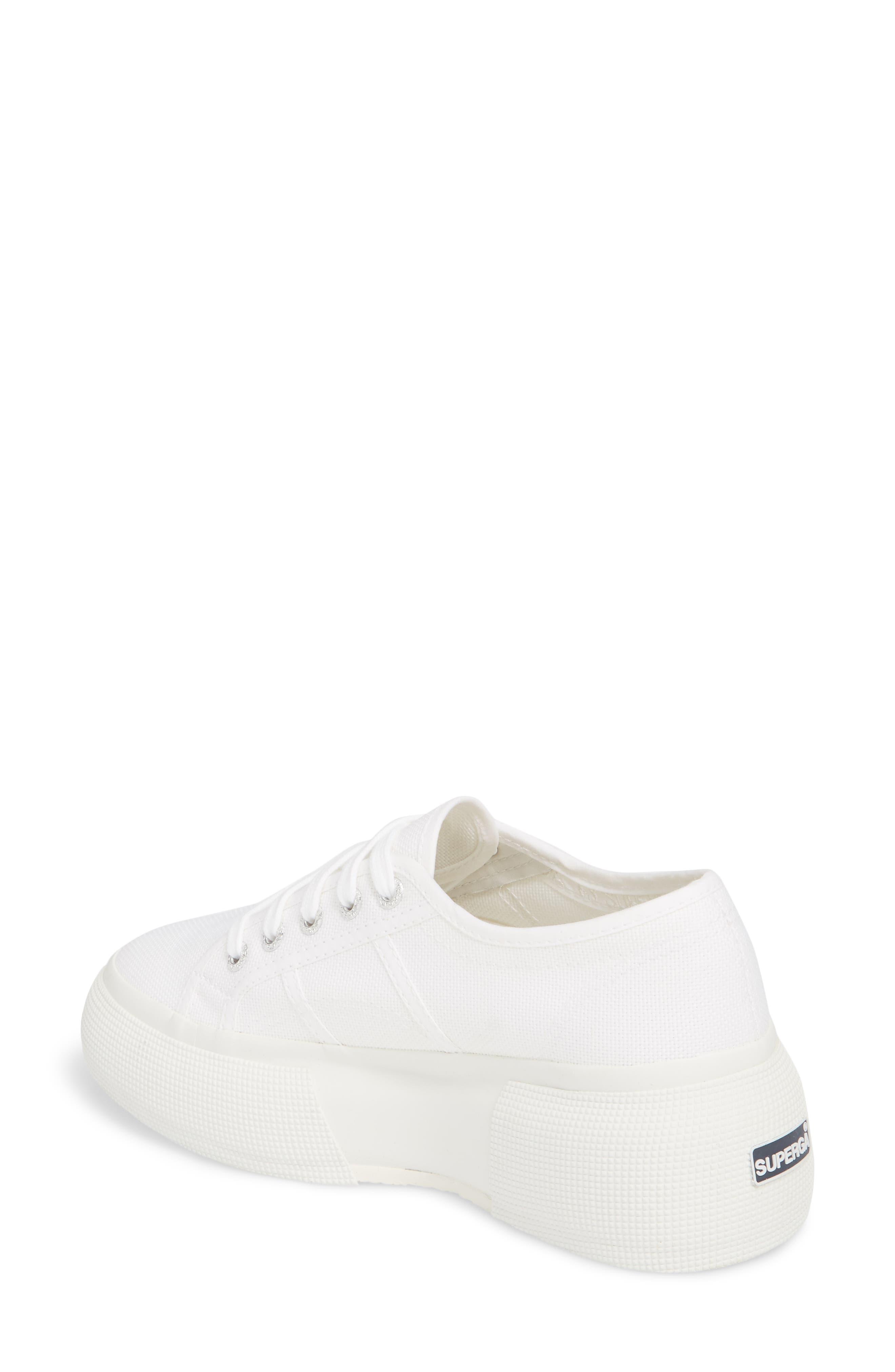 2287 Cotu Platform Sneaker,                             Alternate thumbnail 2, color,                             White