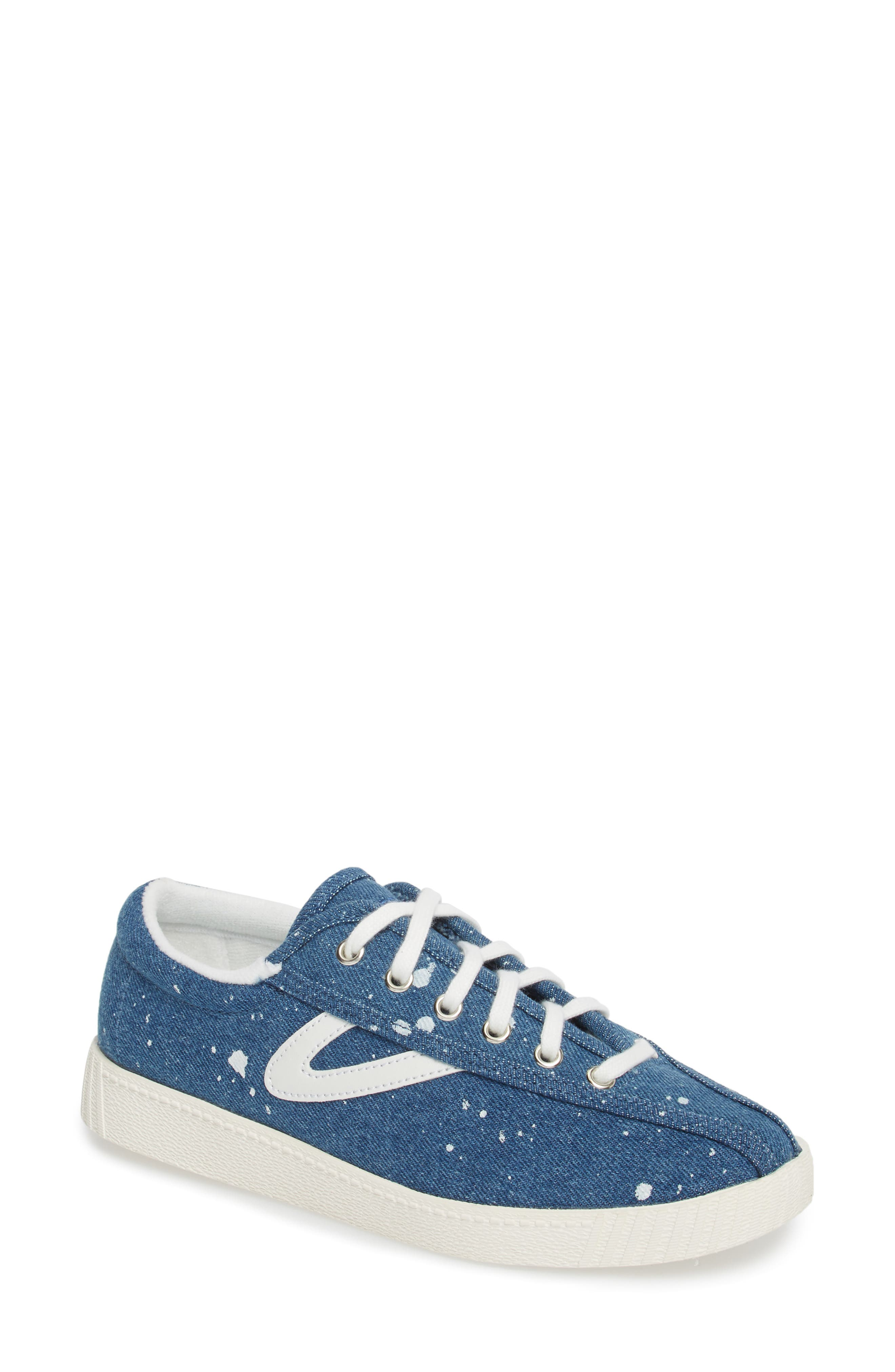 Nylite Plus Sneaker,                         Main,                         color, Blue Fabric