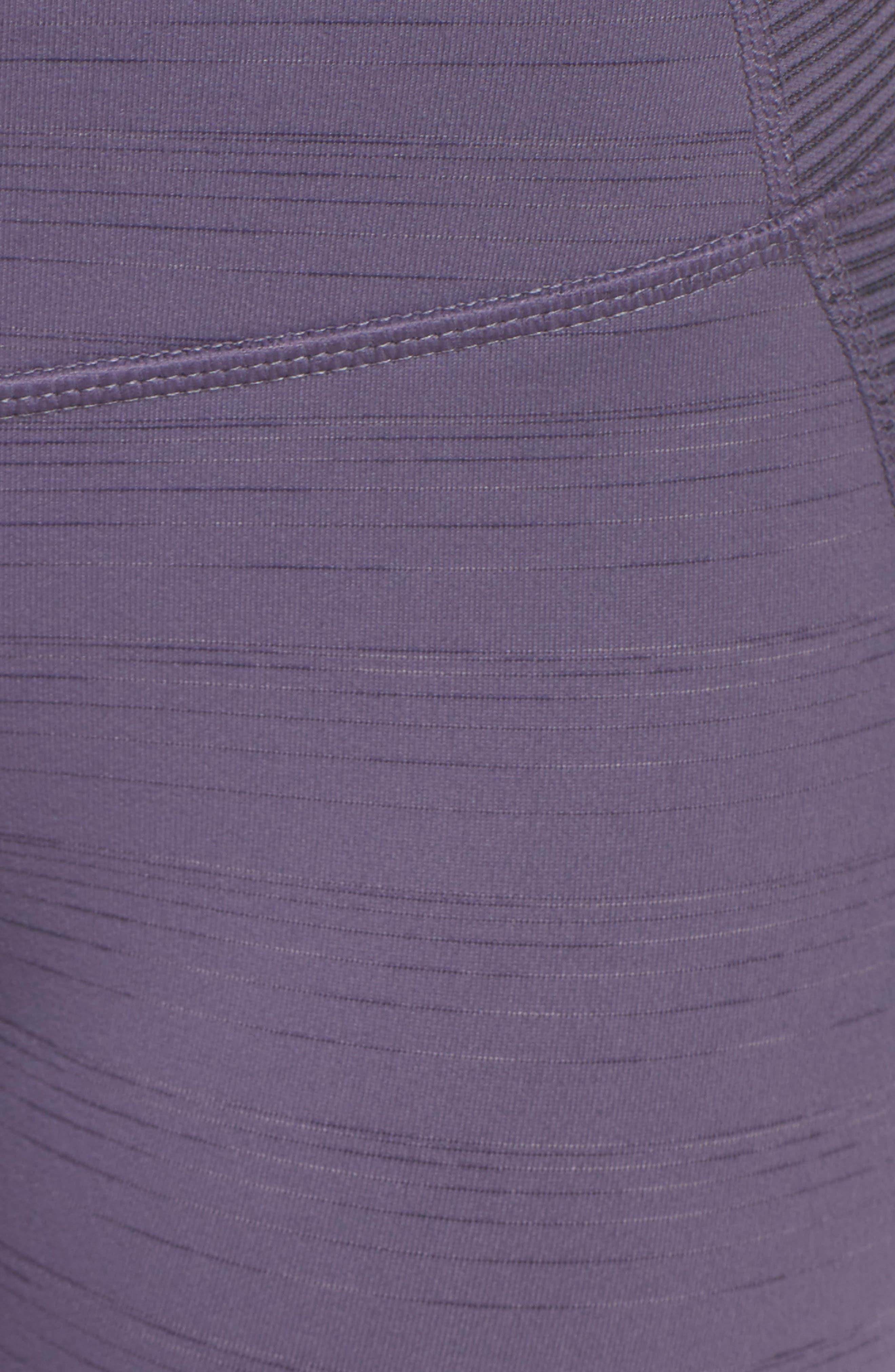 Alternate Image 5  - Zella Sporty Splice High Waist Crop Leggings