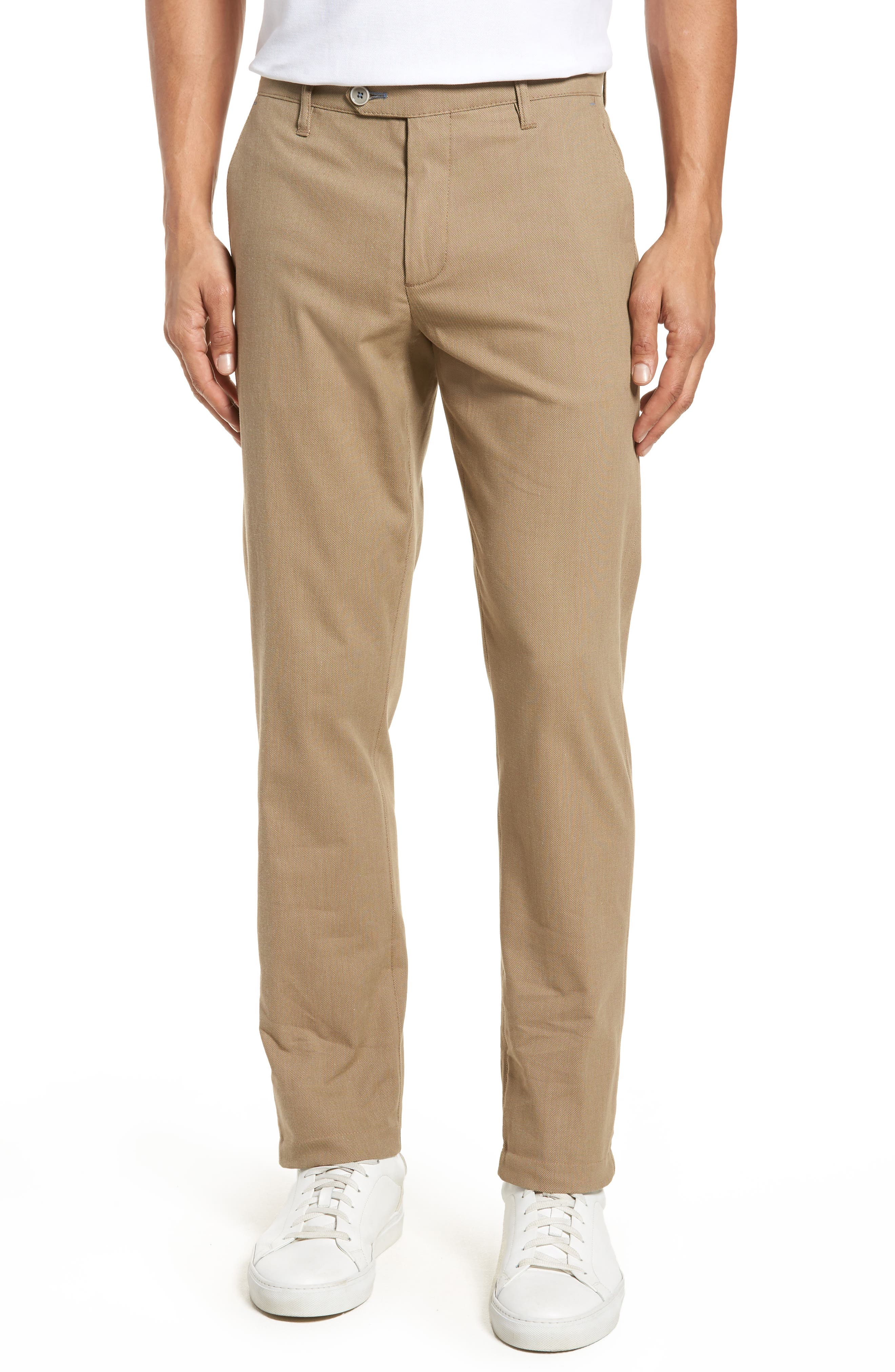 Alternate Image 1 Selected - Ted Baker London Holclas Classic Fit Chino Pants