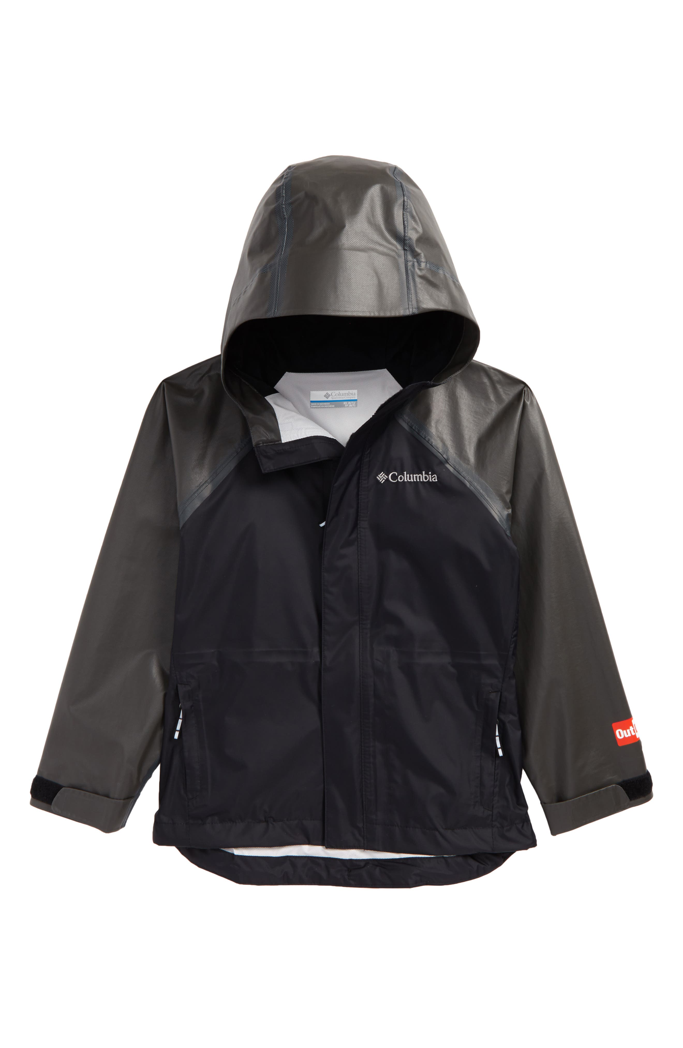 OutDry<sup>™</sup> Extreme Waterproof Hybrid Jacket,                         Main,                         color, Black