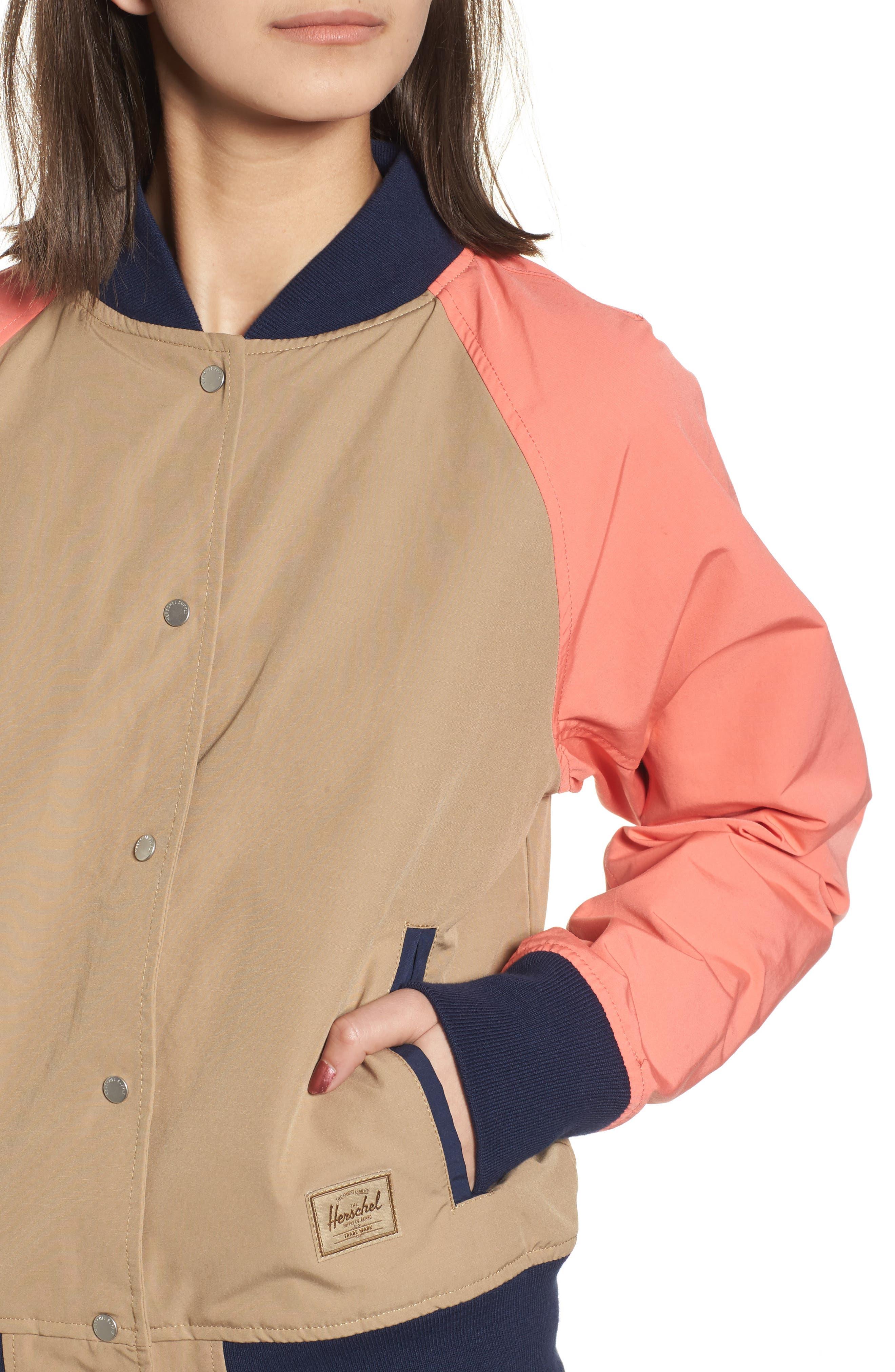 Alternate Image 4  - Herschel Supply Co. Varsity Jacket