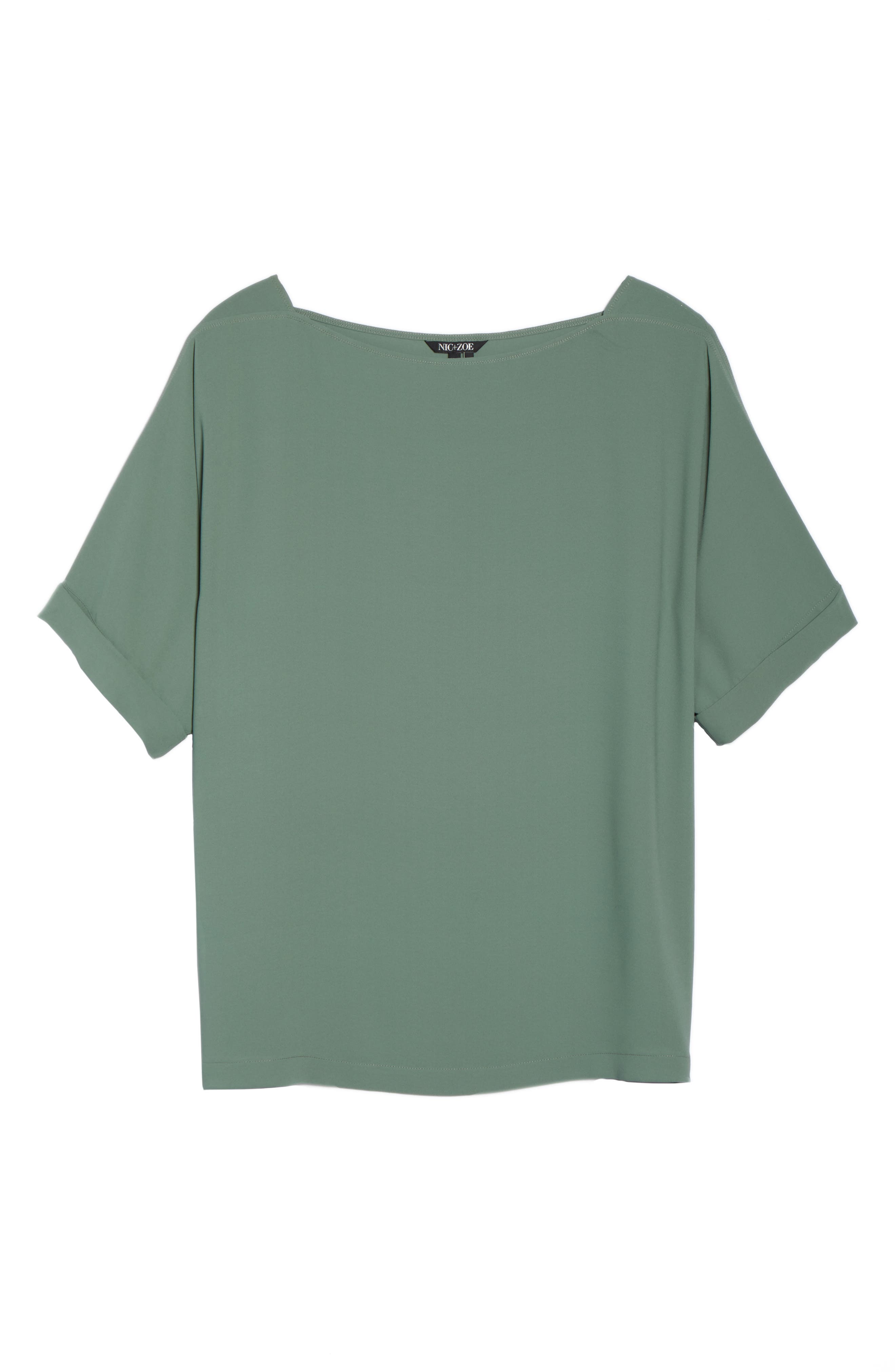 Moroccan Tee,                             Alternate thumbnail 6, color,                             Spring Moss