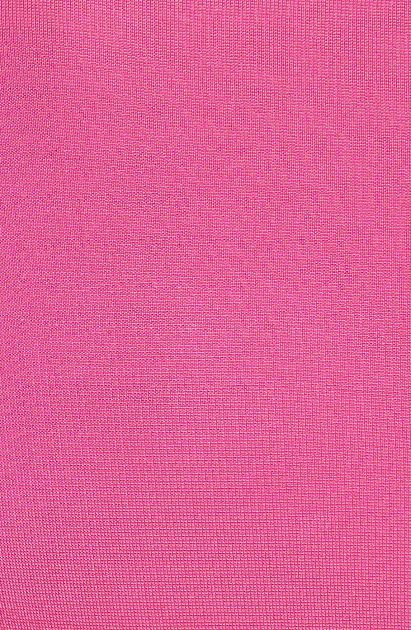 Fallon Slit Skirt Jersey Maxi Dress,                             Alternate thumbnail 6, color,                             Flamingo