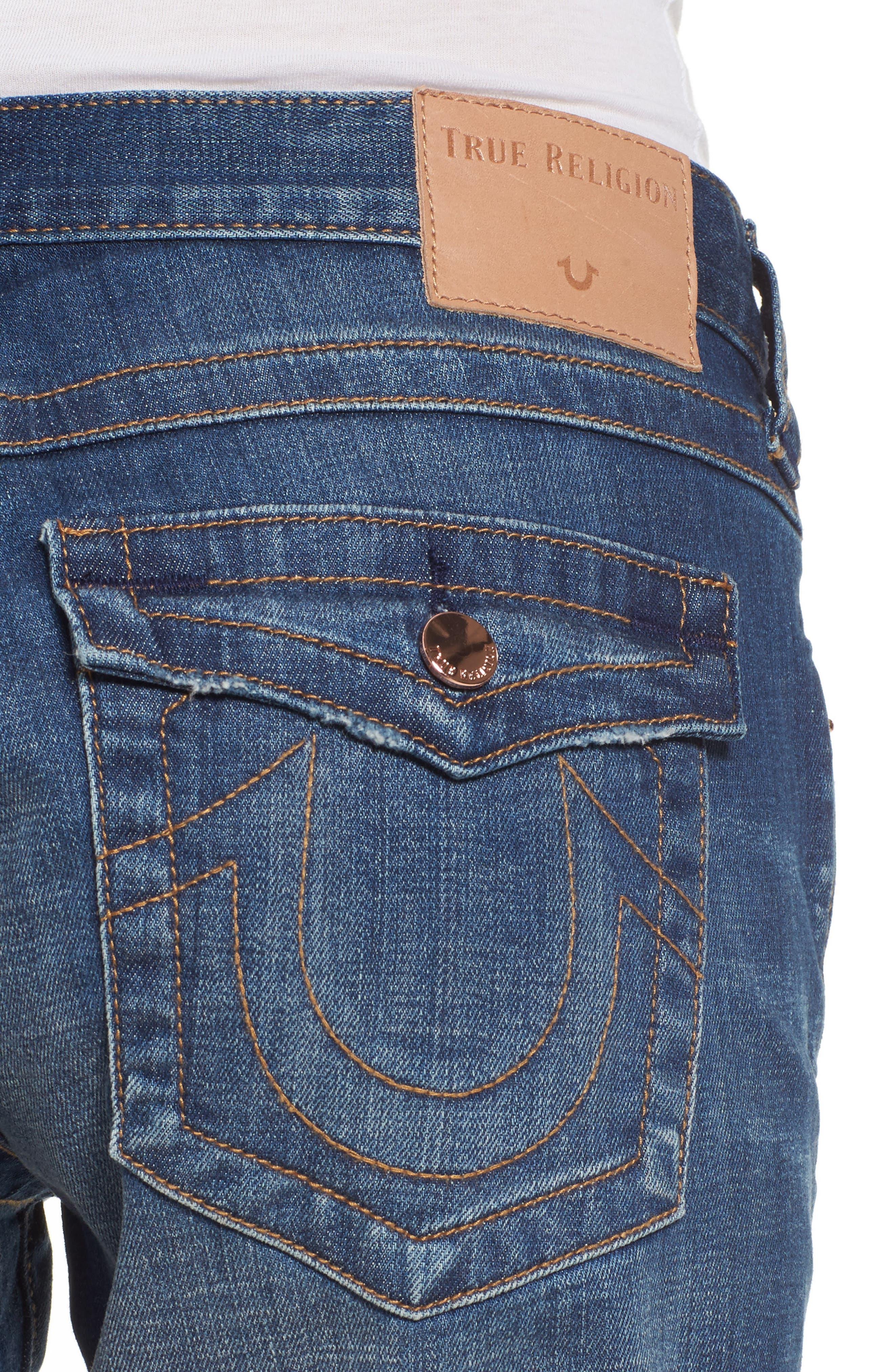 Jayde Shorts,                             Alternate thumbnail 4, color,                             Hardware Blue