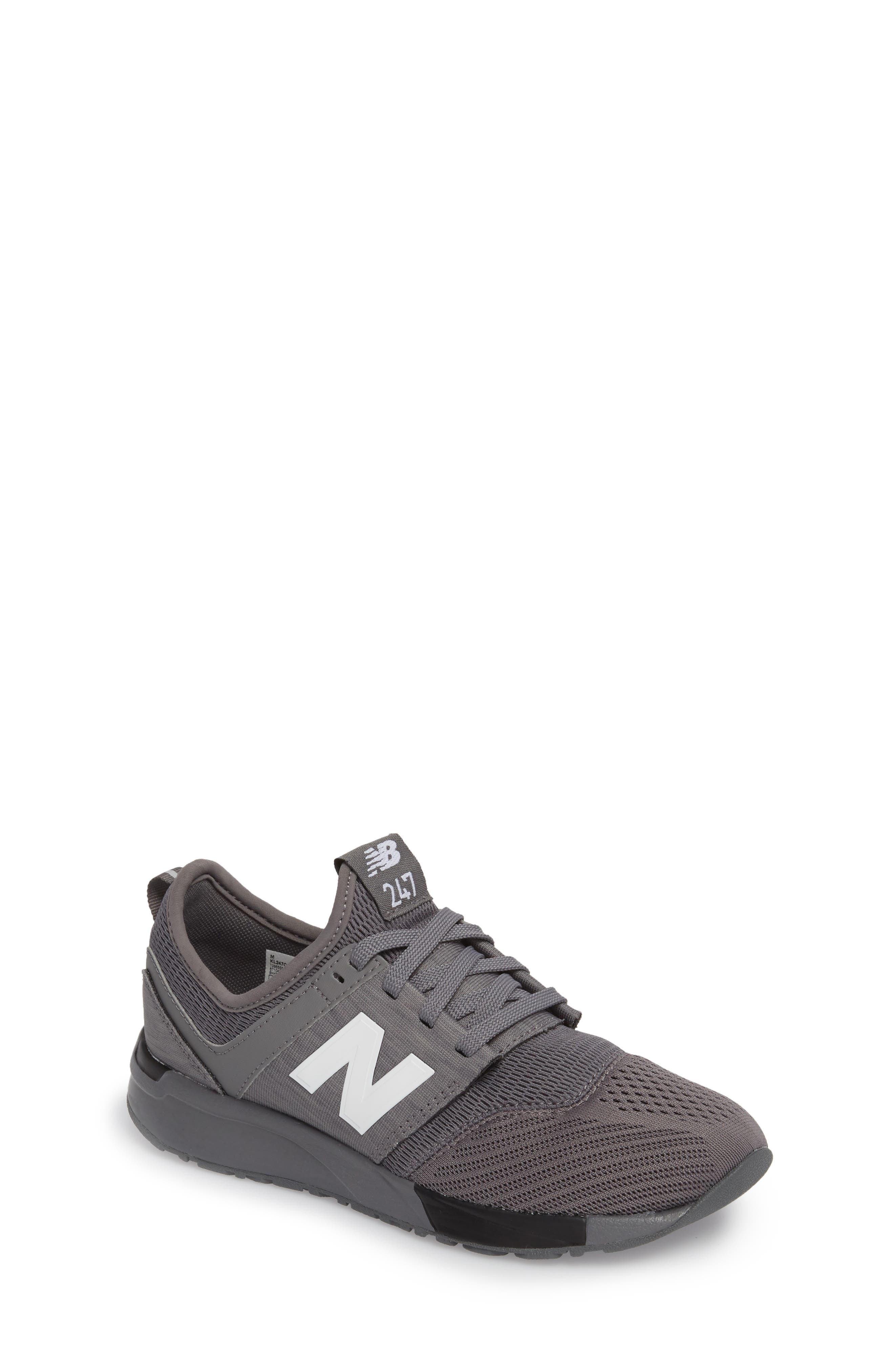 247 Sport Sneaker,                             Main thumbnail 1, color,                             Grey/ Black