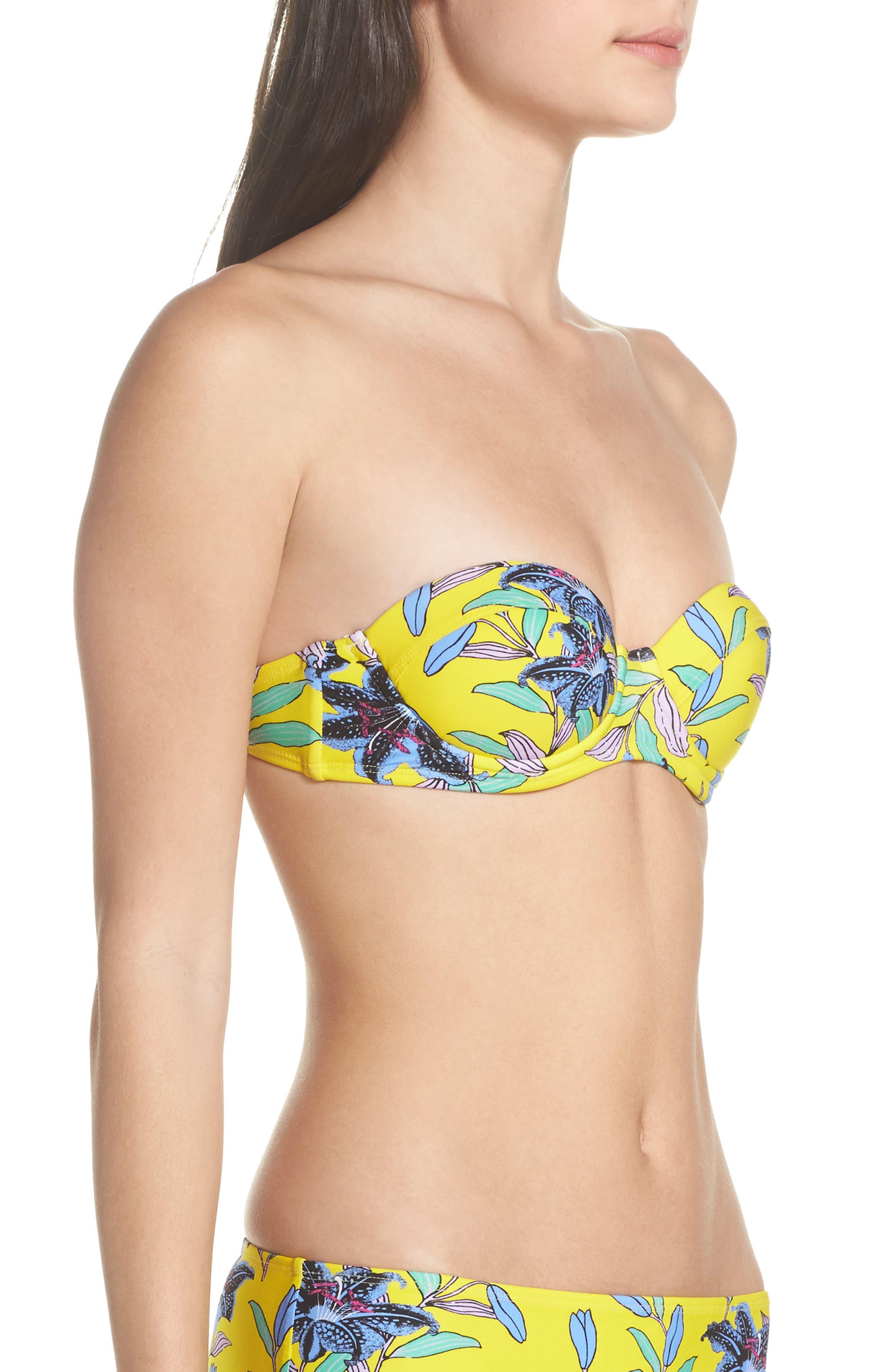 Alternate Image 3  - Diane von Furstenberg Strapless Bikini Top