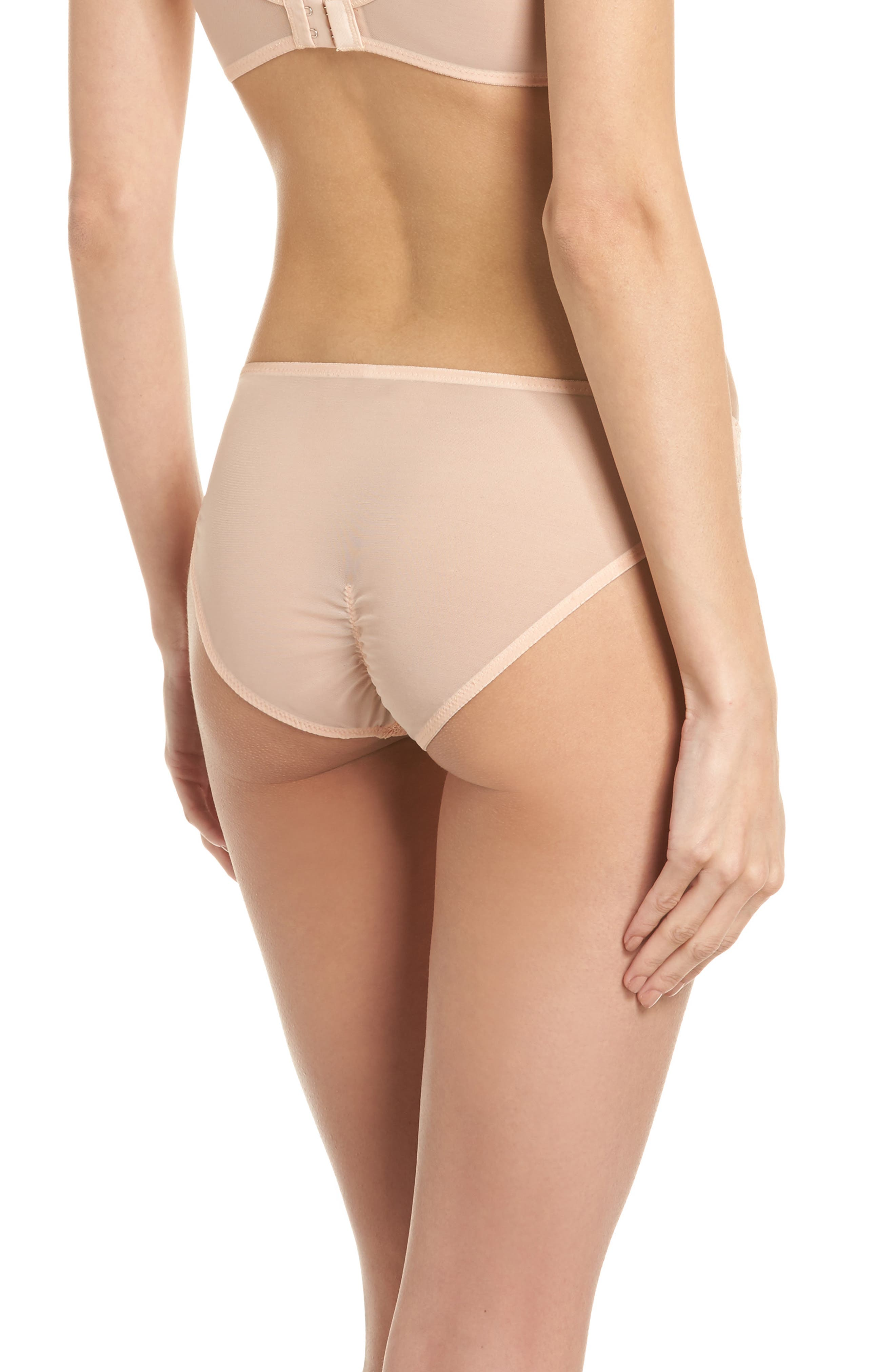 Thistle & Spire Graham Lace Bikini,                             Alternate thumbnail 2, color,                             Blush