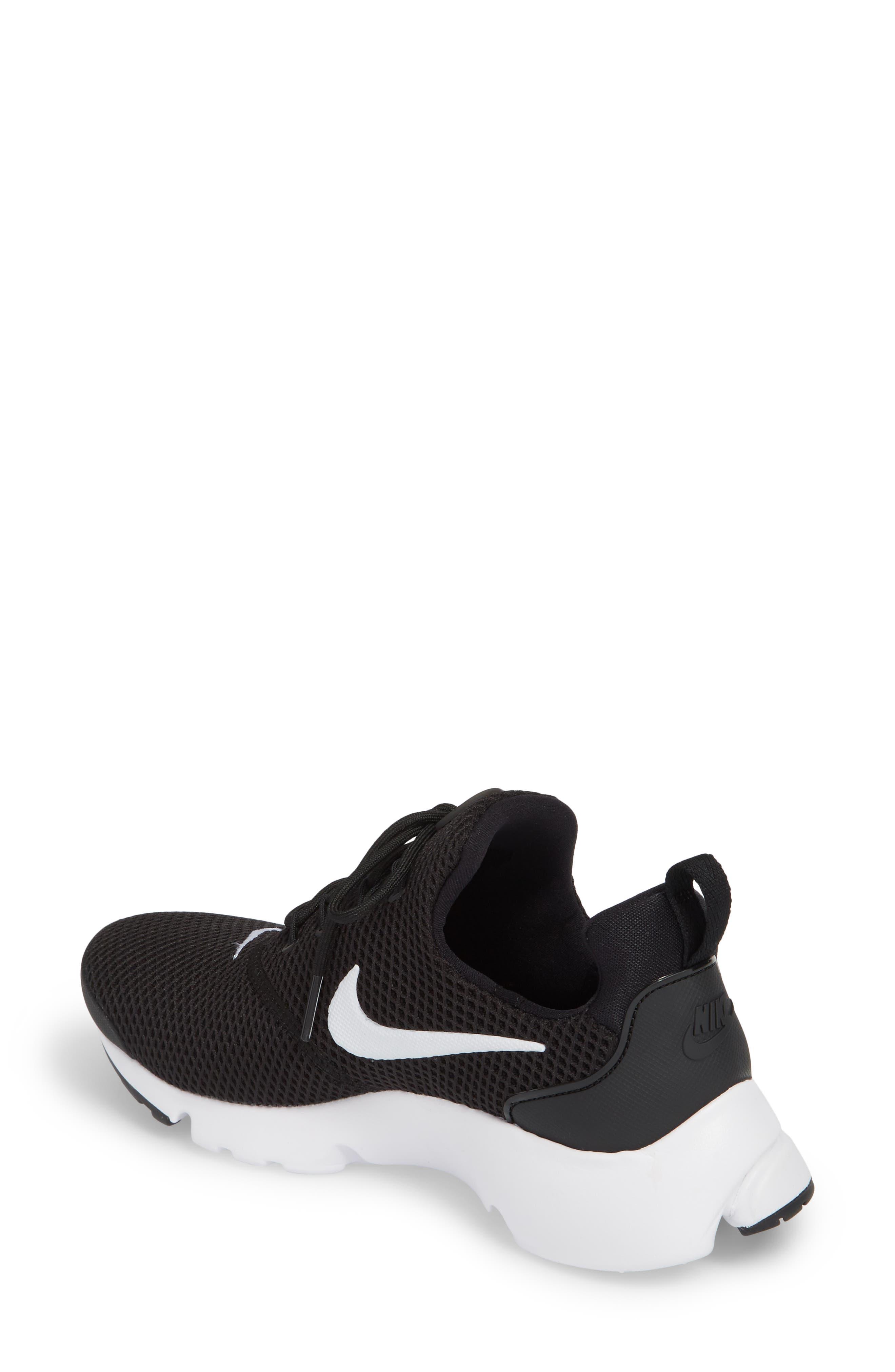 Presto Fly Sneaker,                             Alternate thumbnail 2, color,                             Black/ White/ White