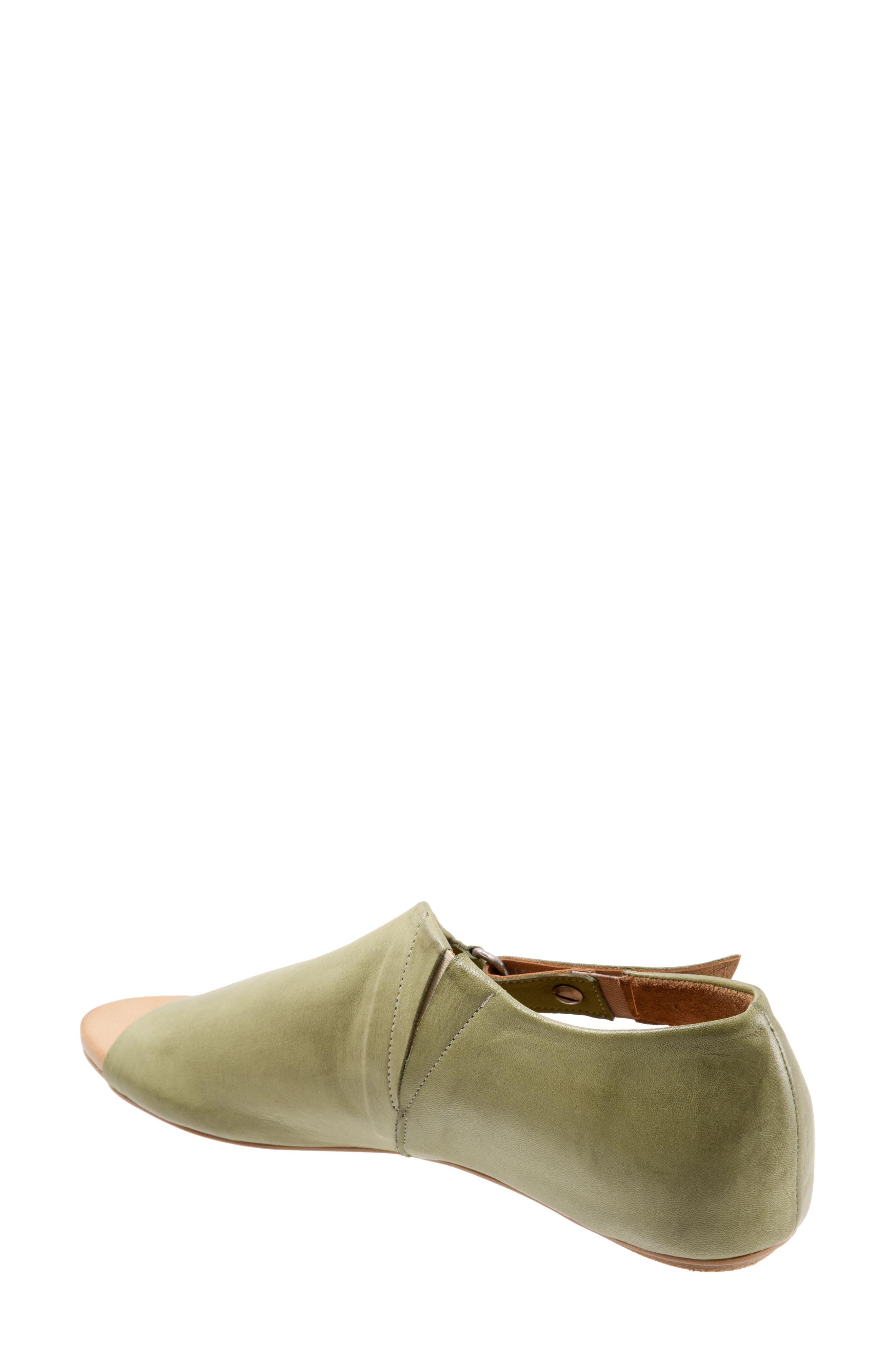 Kale Sandal,                             Alternate thumbnail 2, color,                             Moss Leather