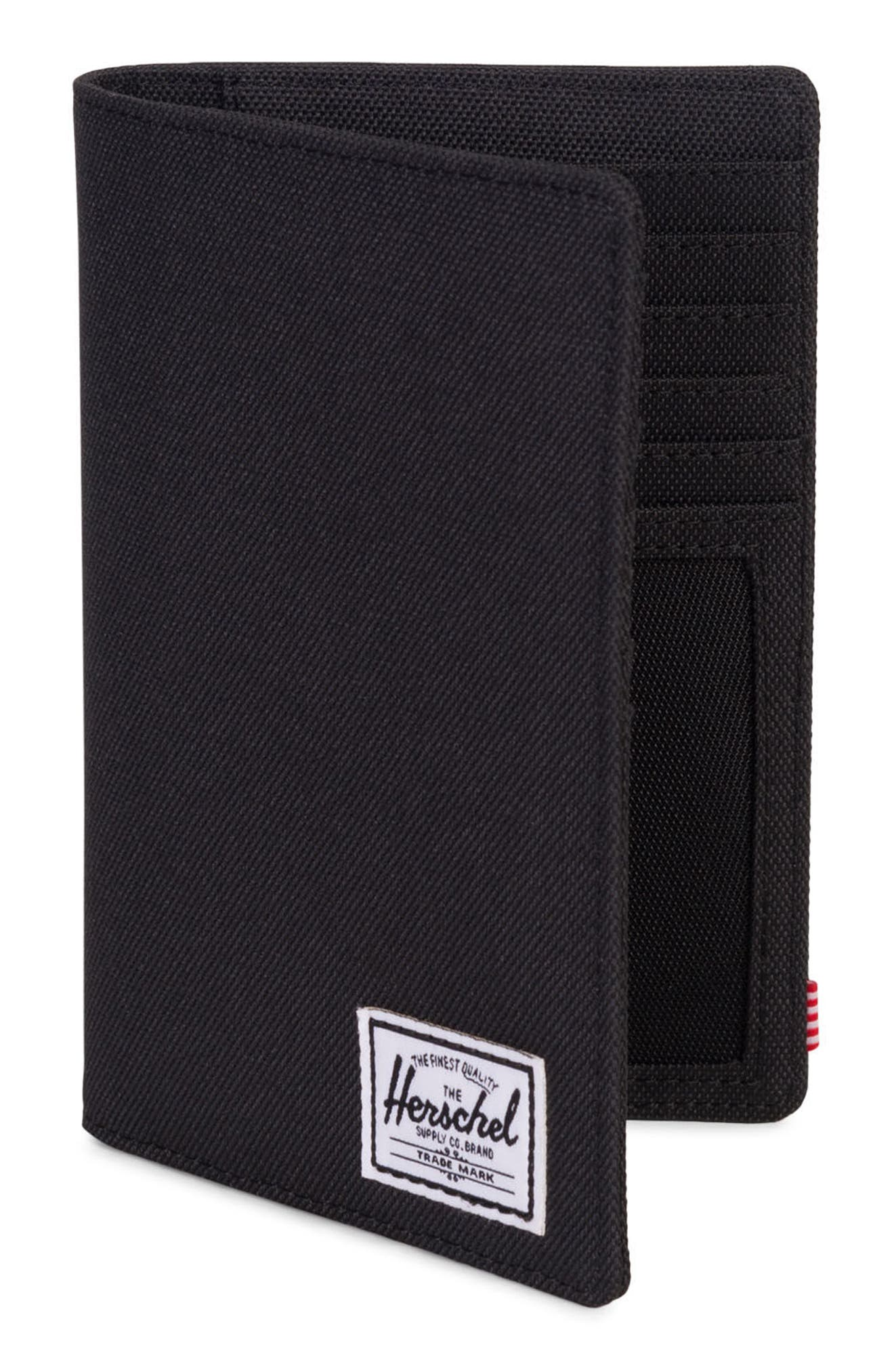 Search Passport Holder,                             Alternate thumbnail 3, color,                             Black