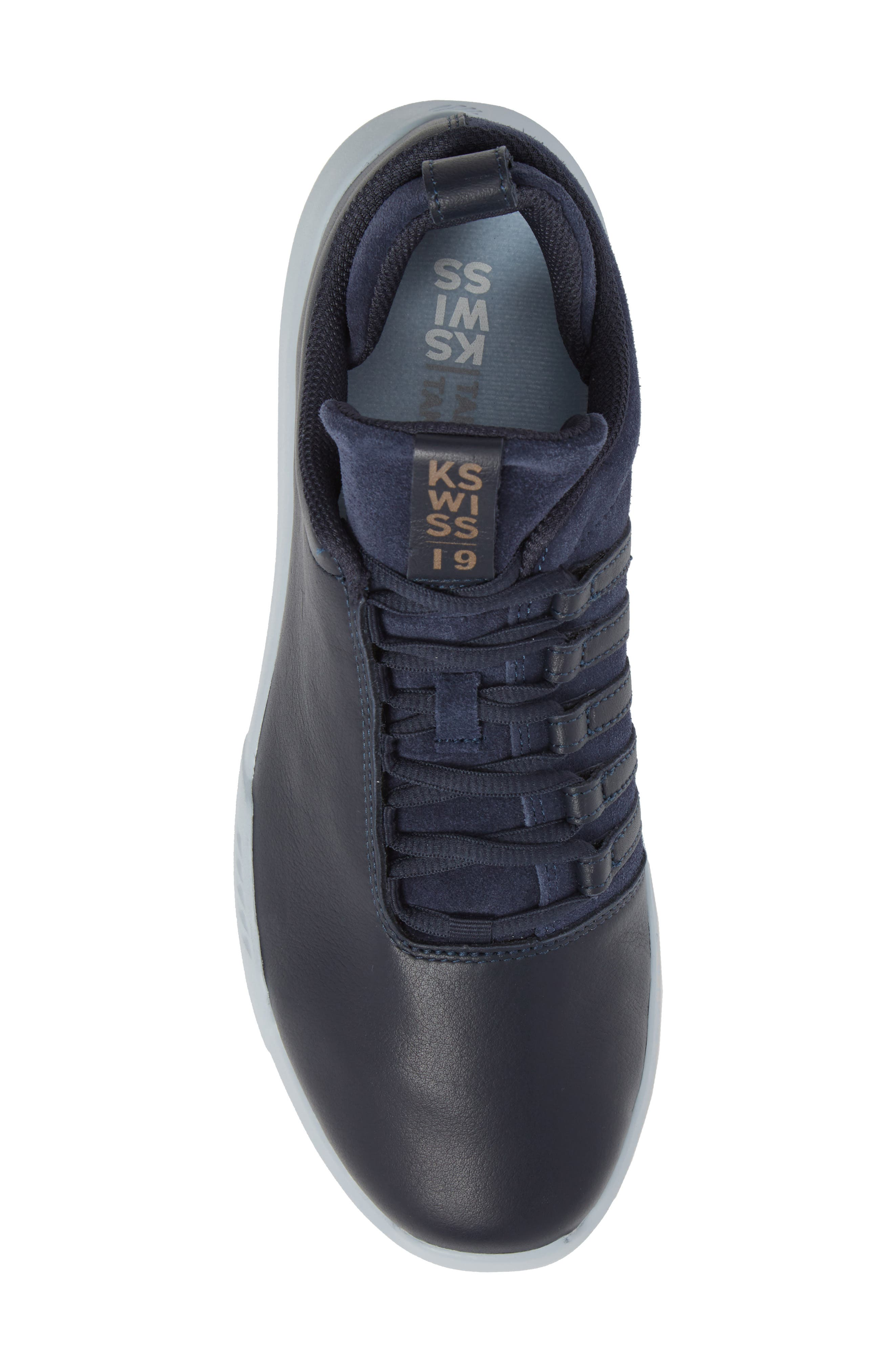 Gen-K Icon Sneaker,                             Alternate thumbnail 5, color,                             Navy/Celestial Blue