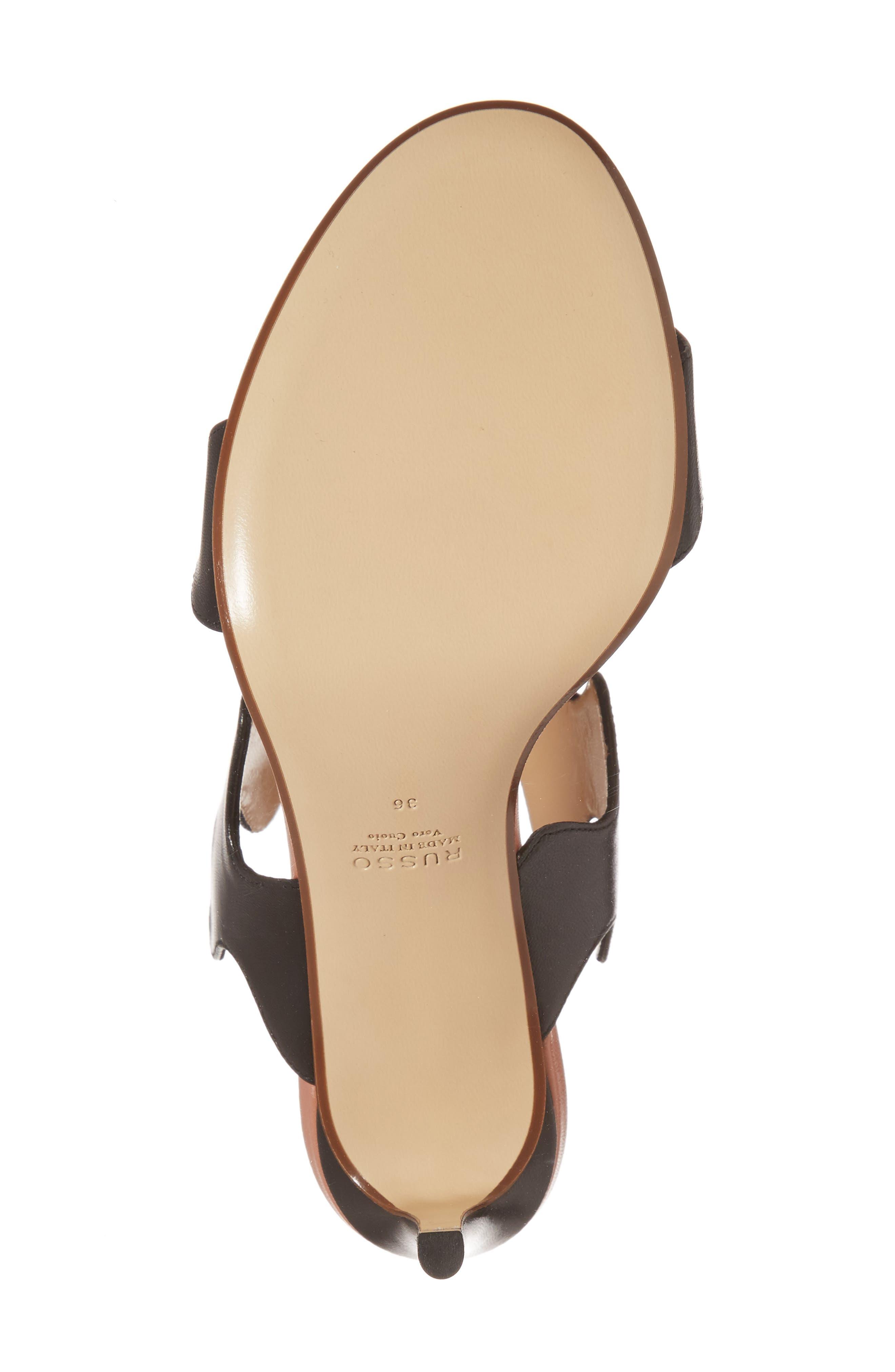 Alternate Image 6  - Francesco Russo Zigzag Sandal (Women)