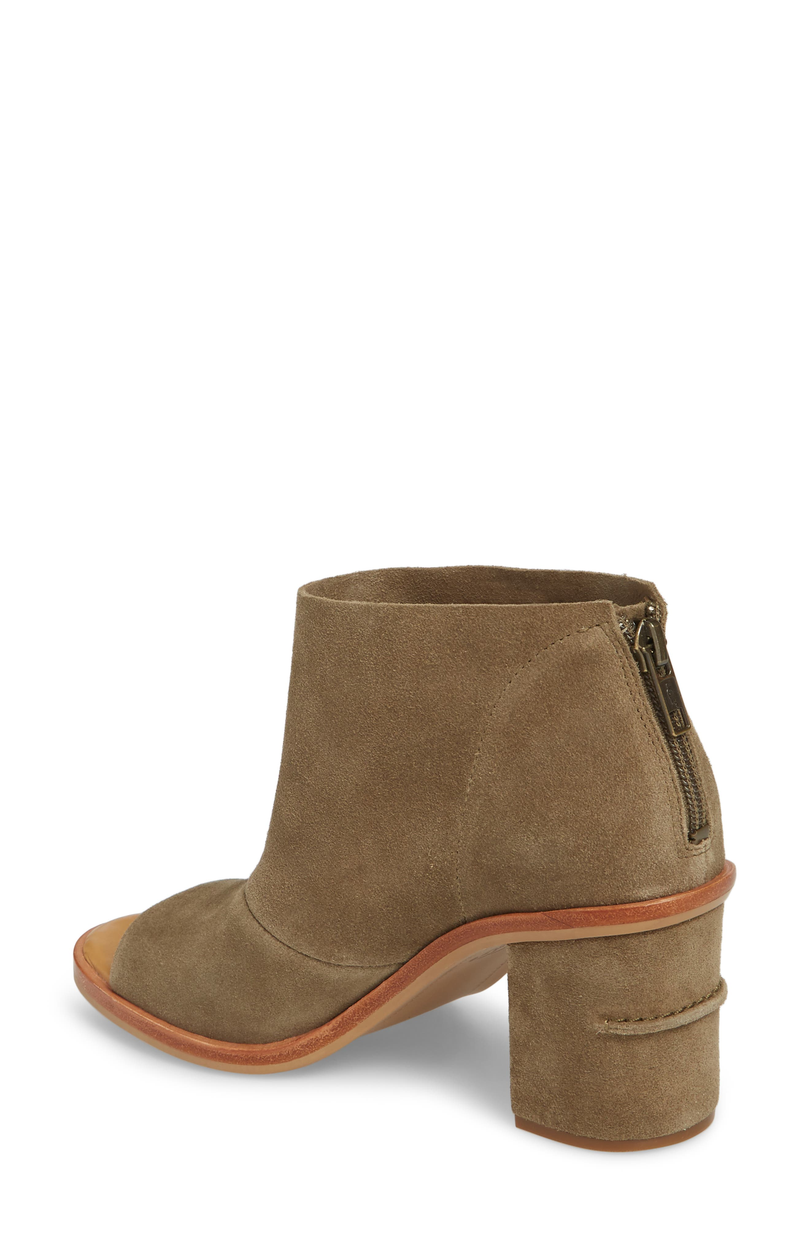 a8641ae9485 Ugg Ginger Peep Toe Bootie, Apple Green Suede