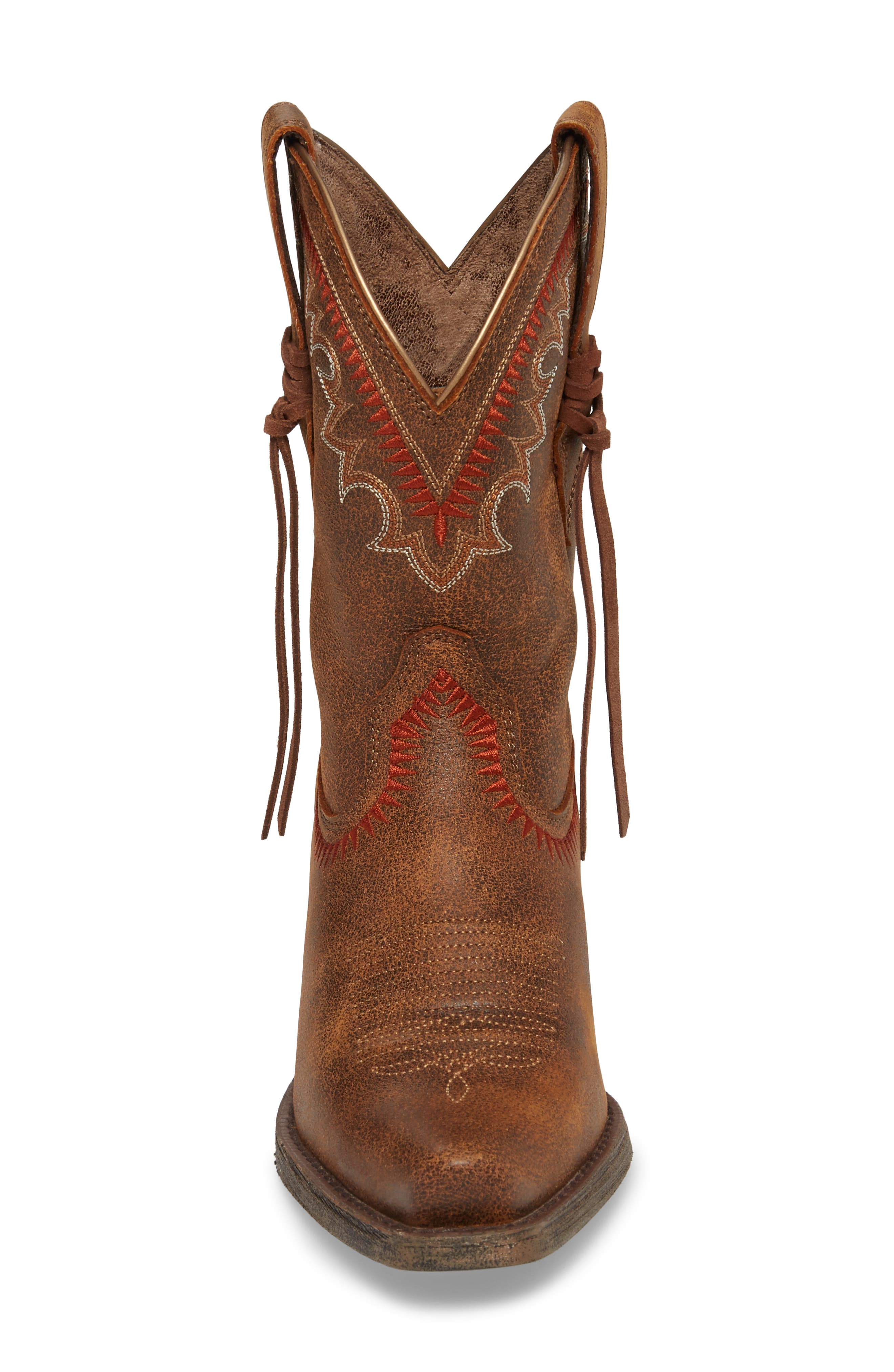 Round Up Western Boot,                             Alternate thumbnail 4, color,                             Aztec Vintage Bomber