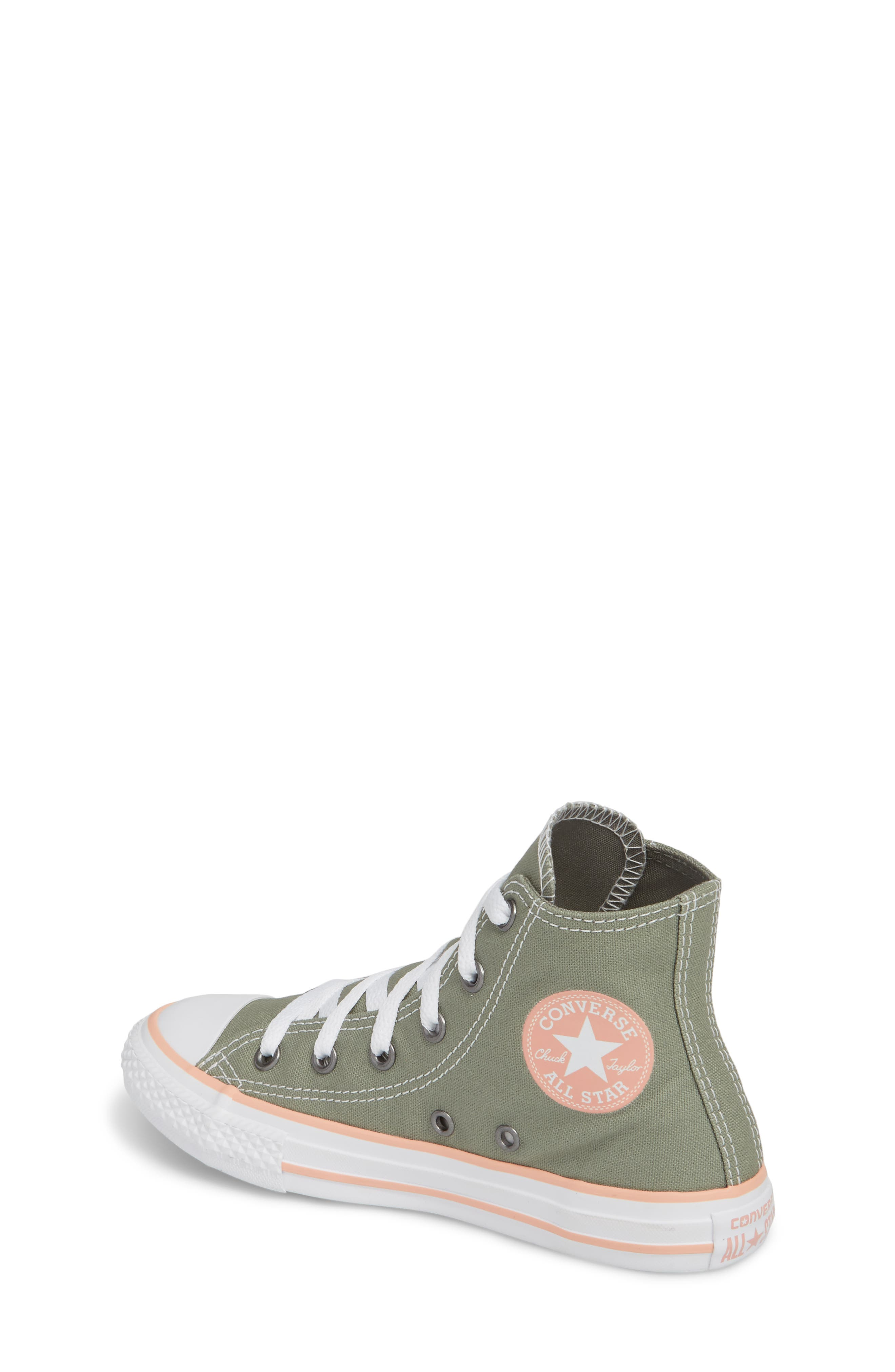 Alternate Image 2  - Converse Chuck Taylor® All Star® High Top Sneaker (Baby, Walker, Toddler, Little Kid & Big Kid)