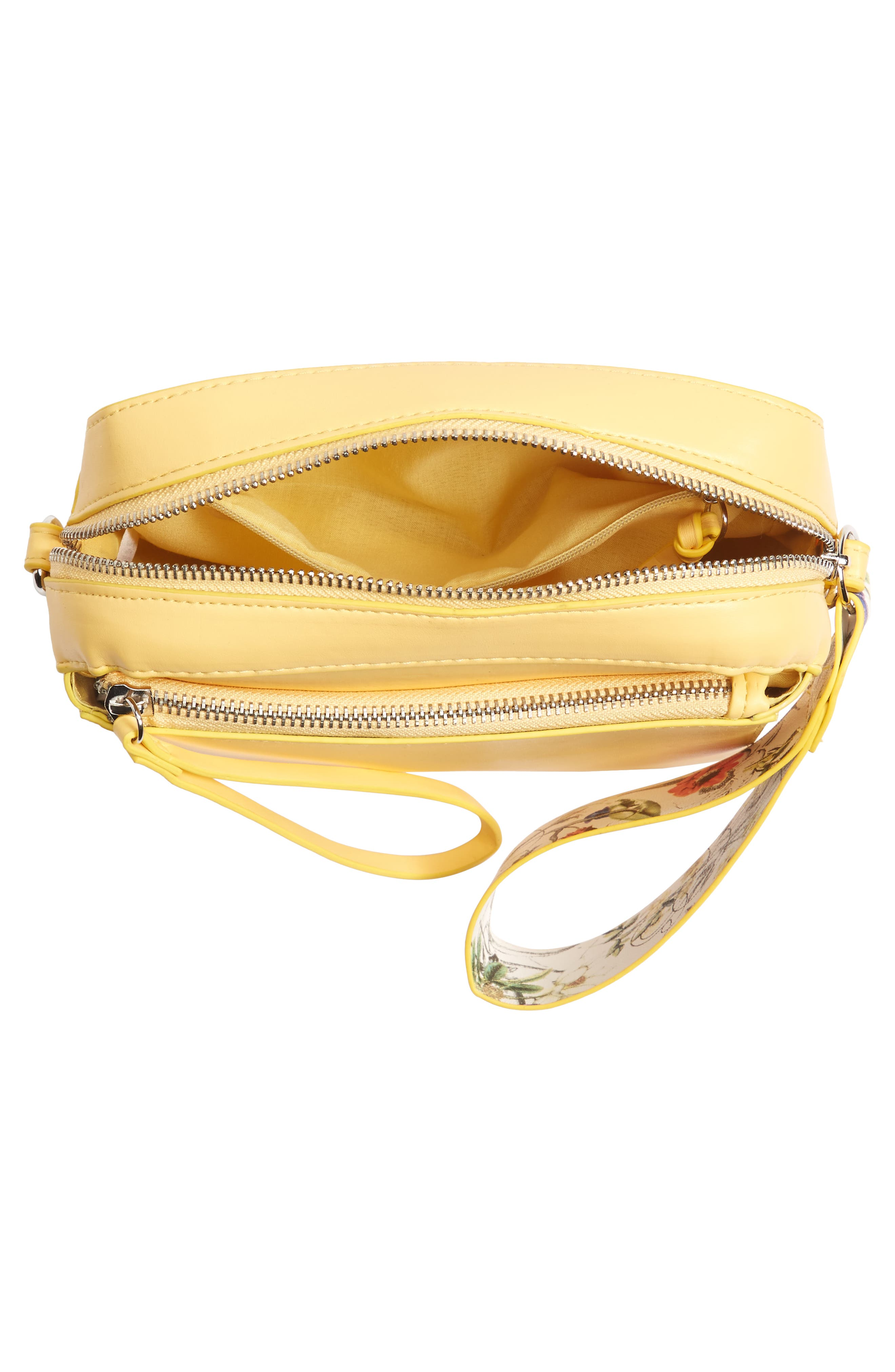 Alternate Image 4  - BP. Faux Leather Crossbody Wristlet