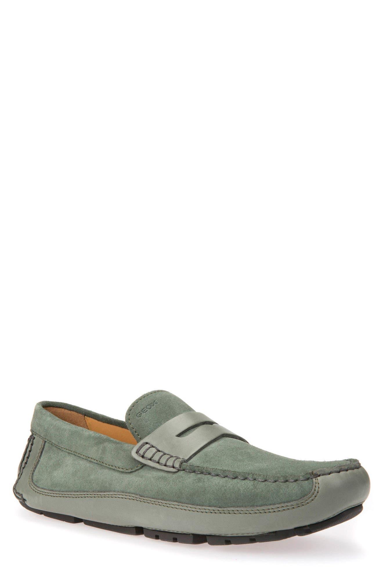 Melbourne 4 Driving Loafer,                             Main thumbnail 1, color,                             Sage