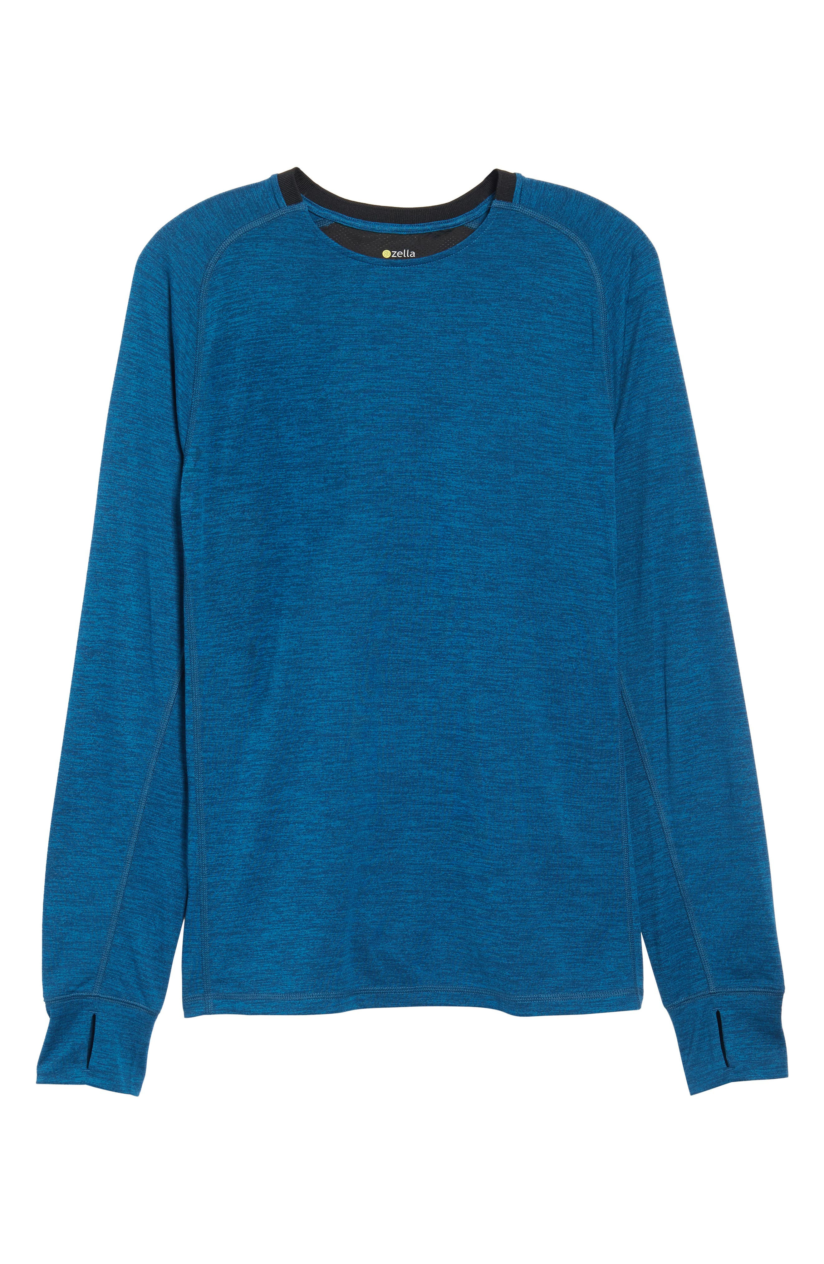 Larosite Athletic Fit T-Shirt,                             Alternate thumbnail 6, color,                             Blue Iolite Melange