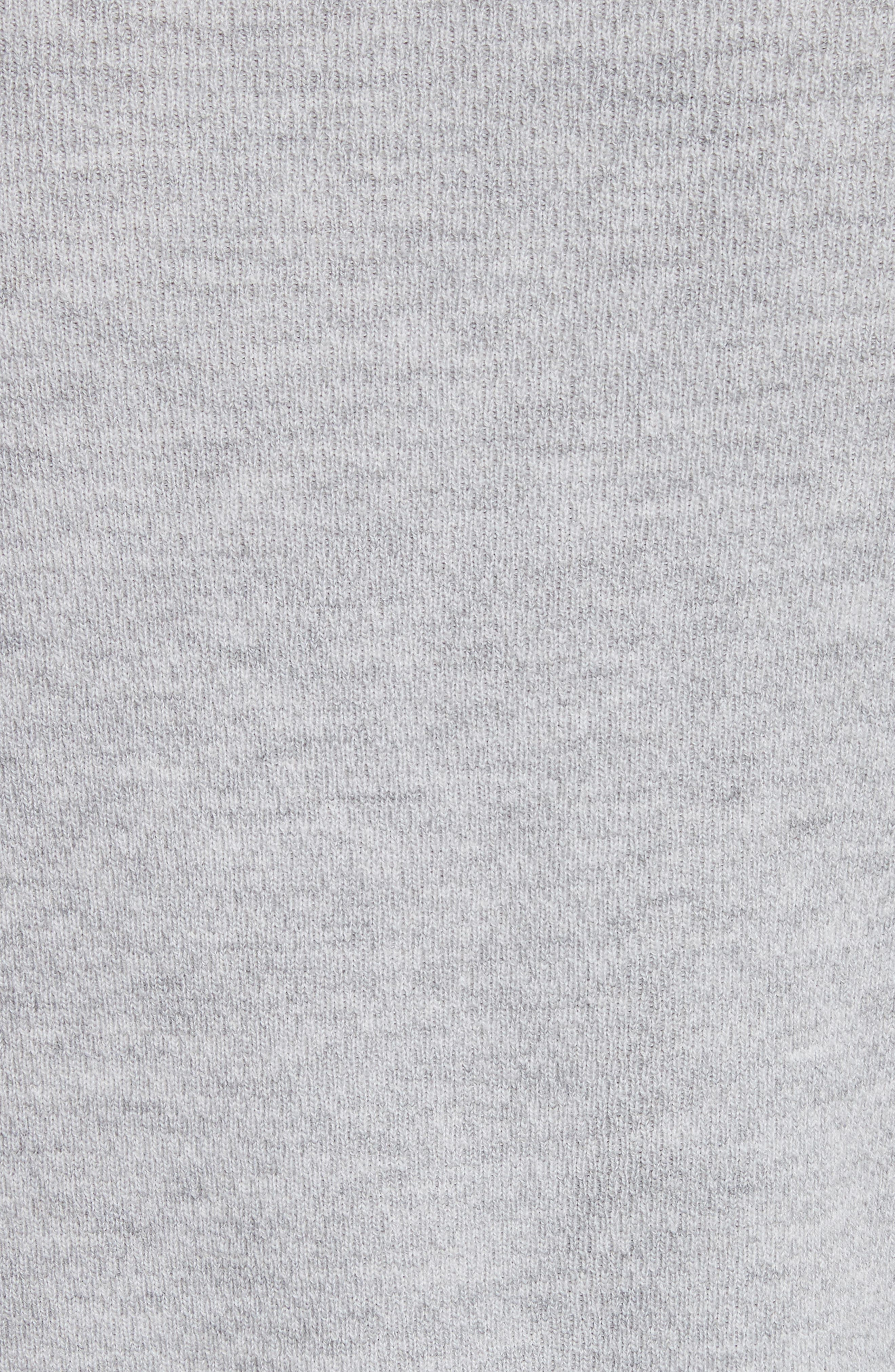 Gregory Wool Blend Thermal Henley,                             Alternate thumbnail 5, color,                             Grey