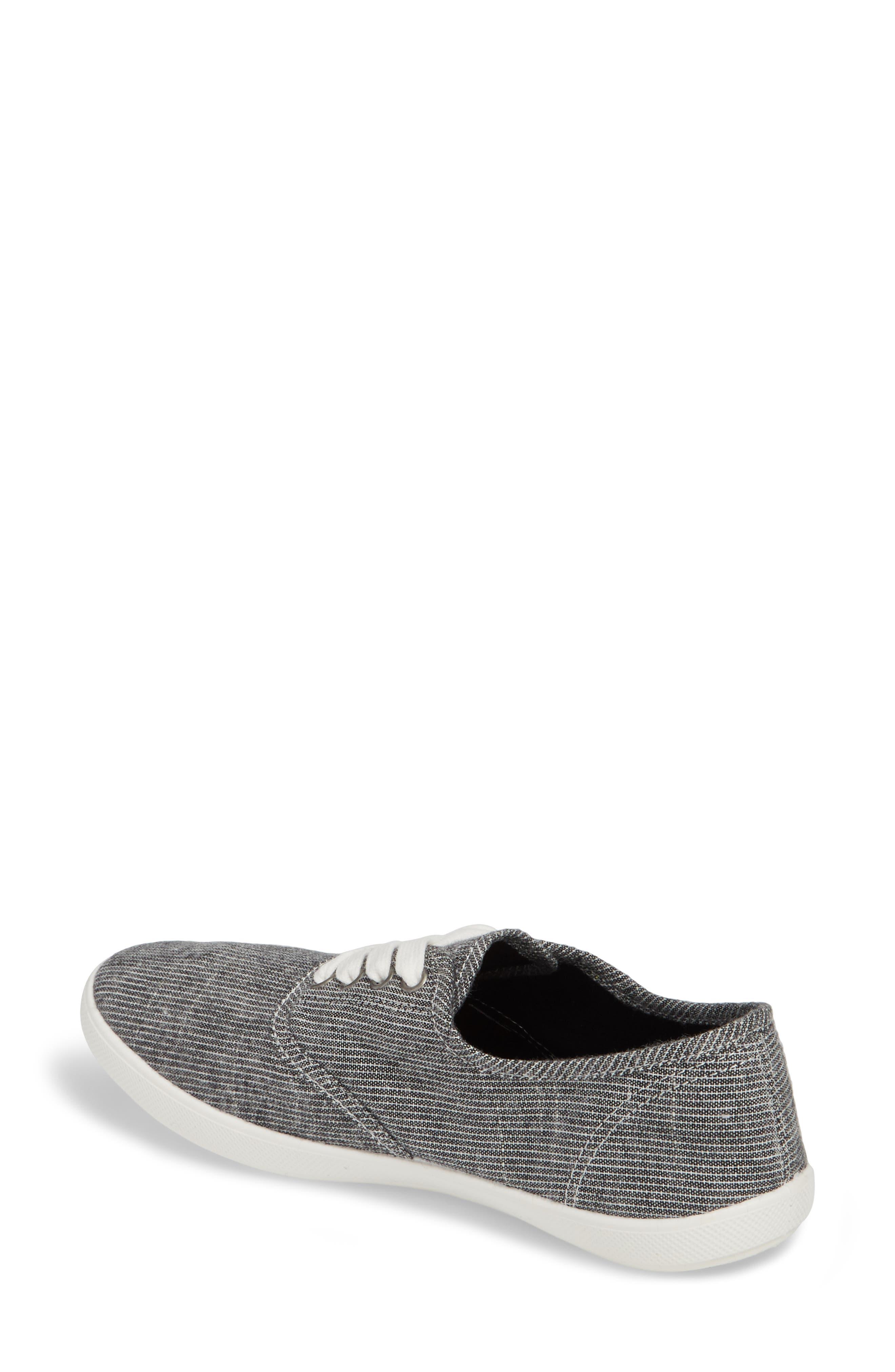 Addy Sneaker,                             Alternate thumbnail 2, color,                             Black/ White
