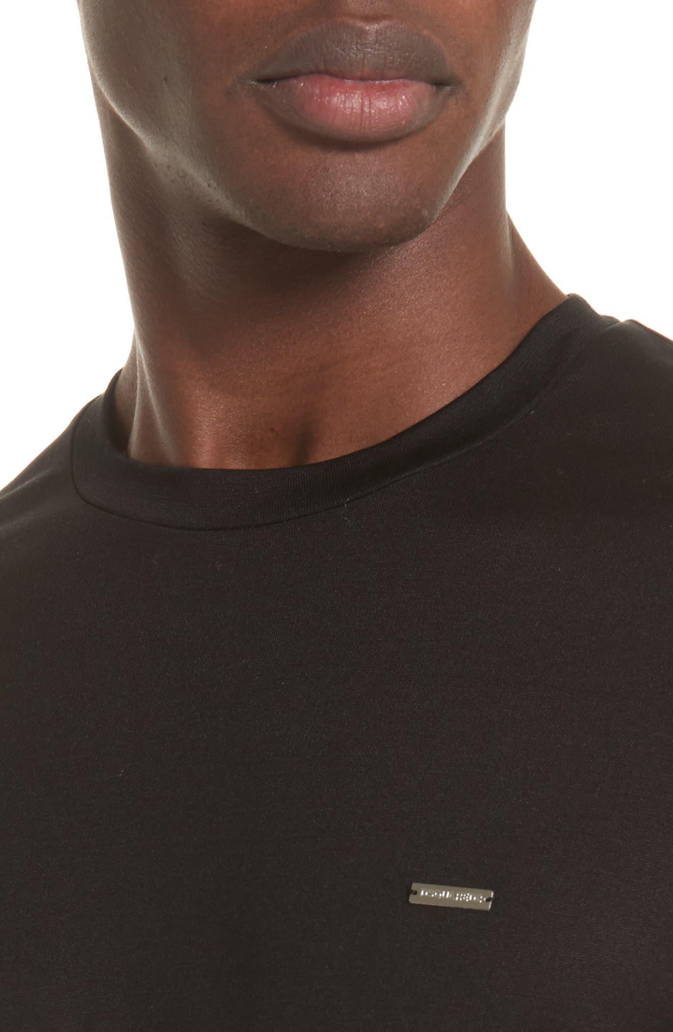Alternate Image 4  - Dsquared2 Silk Jersey T-Shirt