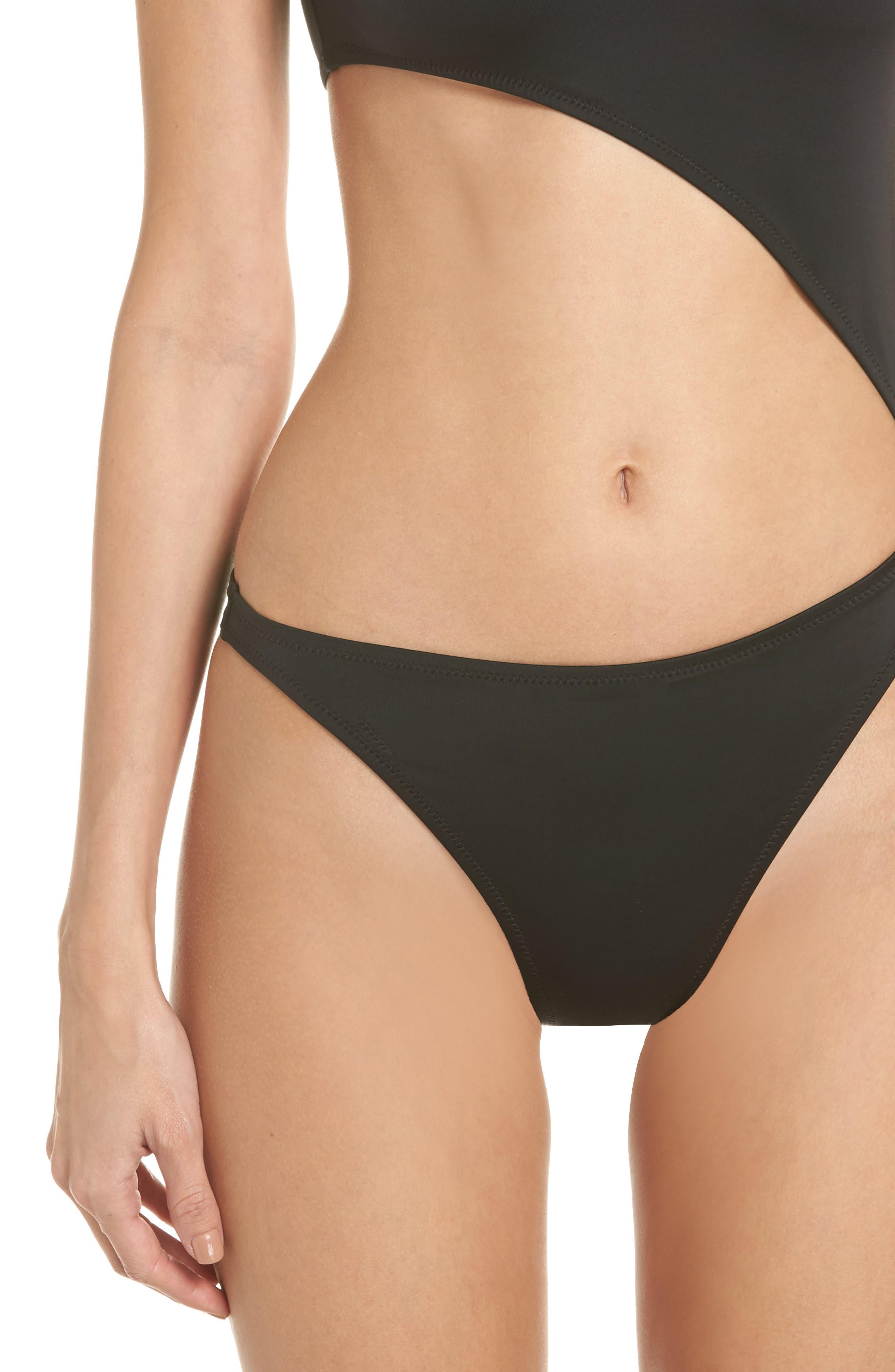 The Jourdan One-Piece Swimsuit,                             Alternate thumbnail 4, color,                             Black