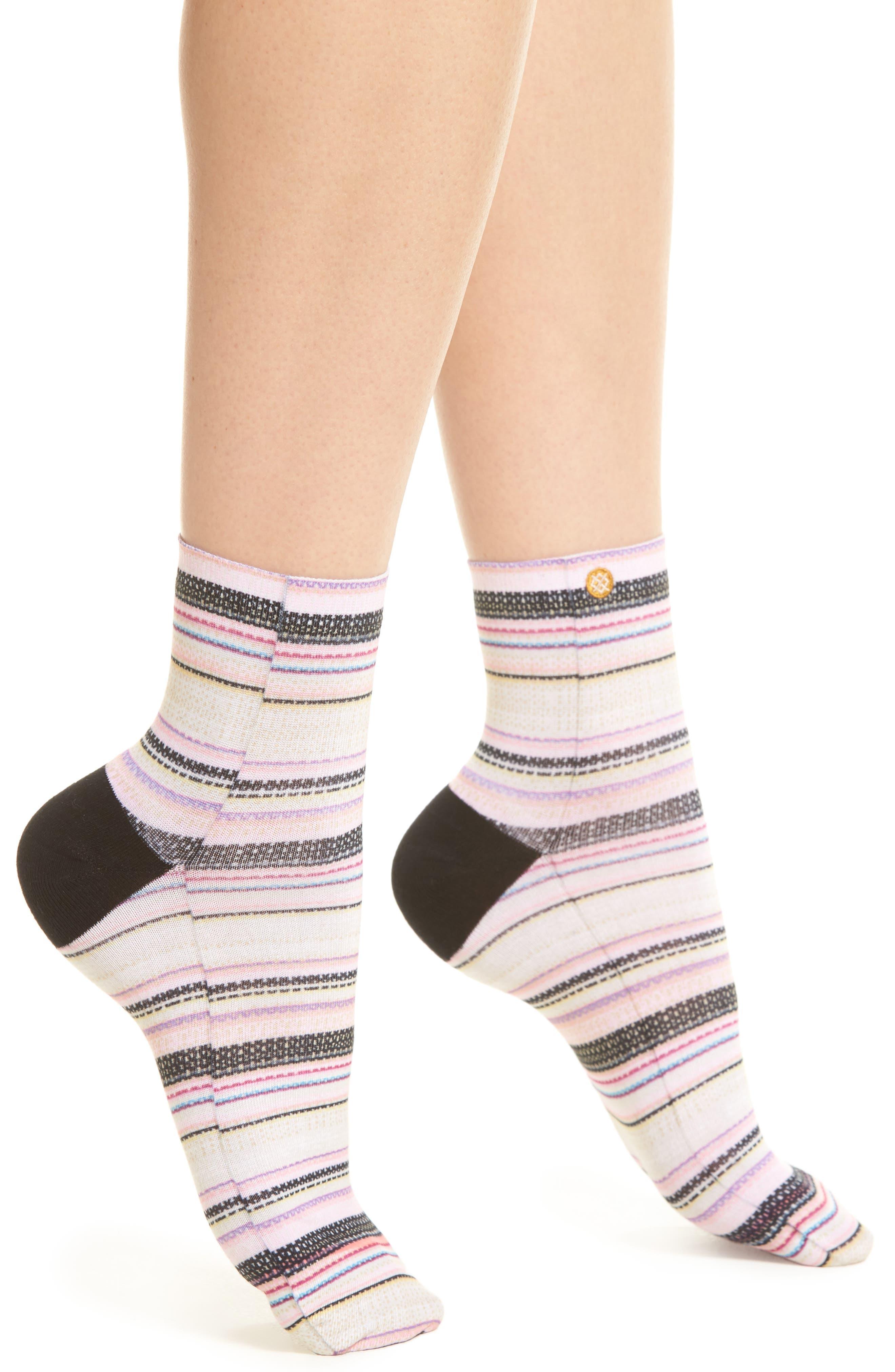 Bahama Mama Ankle Socks,                             Main thumbnail 1, color,                             Multi