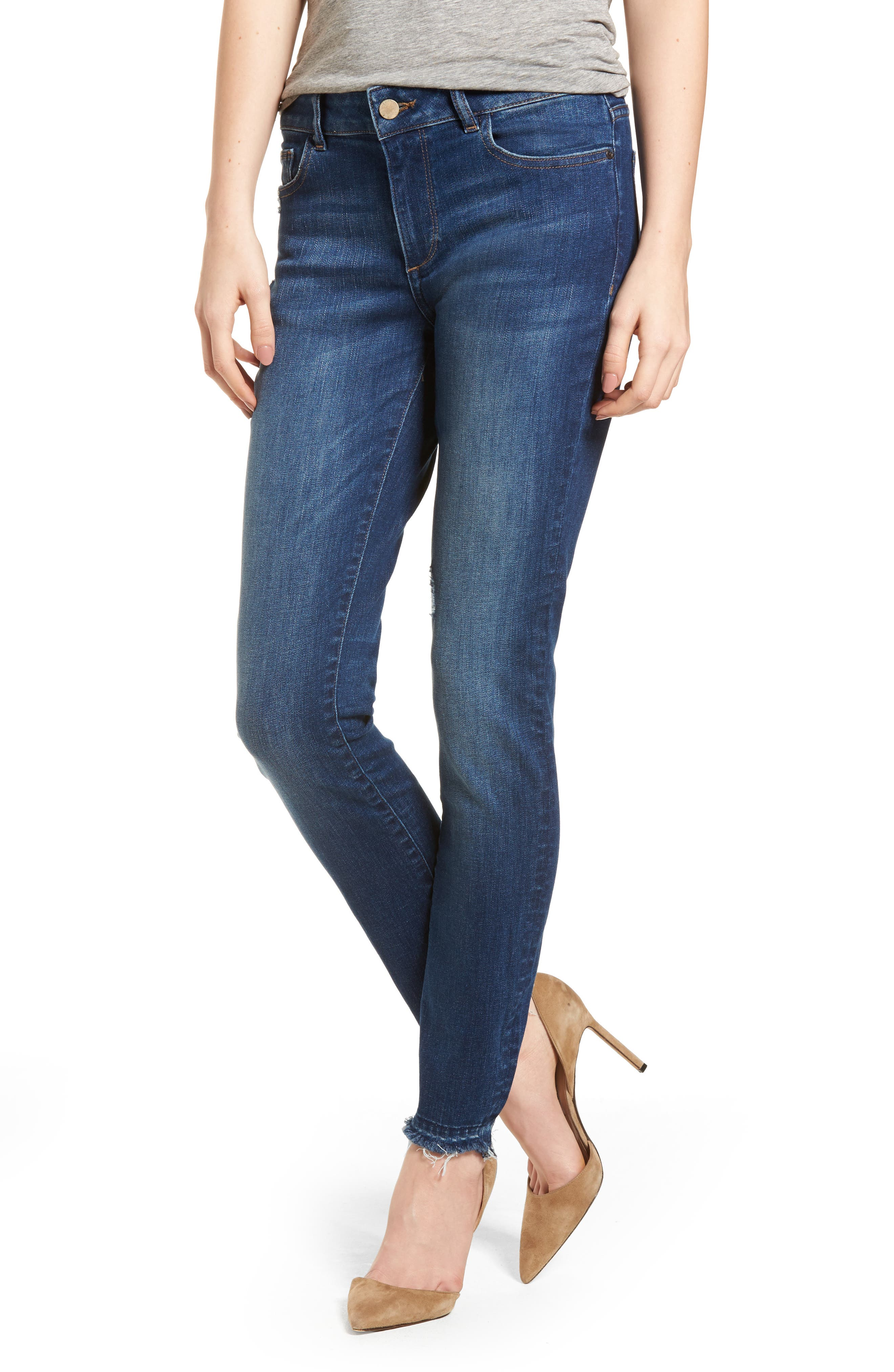 Florence Instasculpt Skinny Jeans,                             Main thumbnail 1, color,                             Hughes