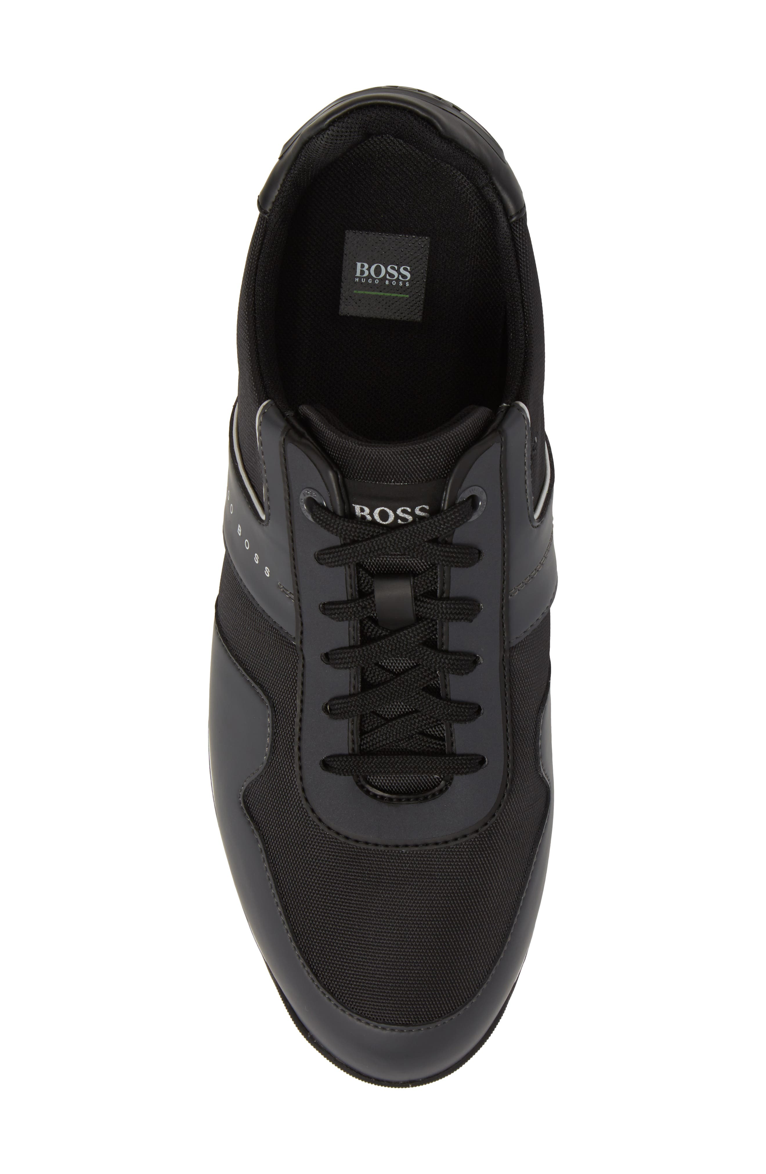 Maze Water Resistant Low Top Sneaker,                             Alternate thumbnail 5, color,                             Charcoal