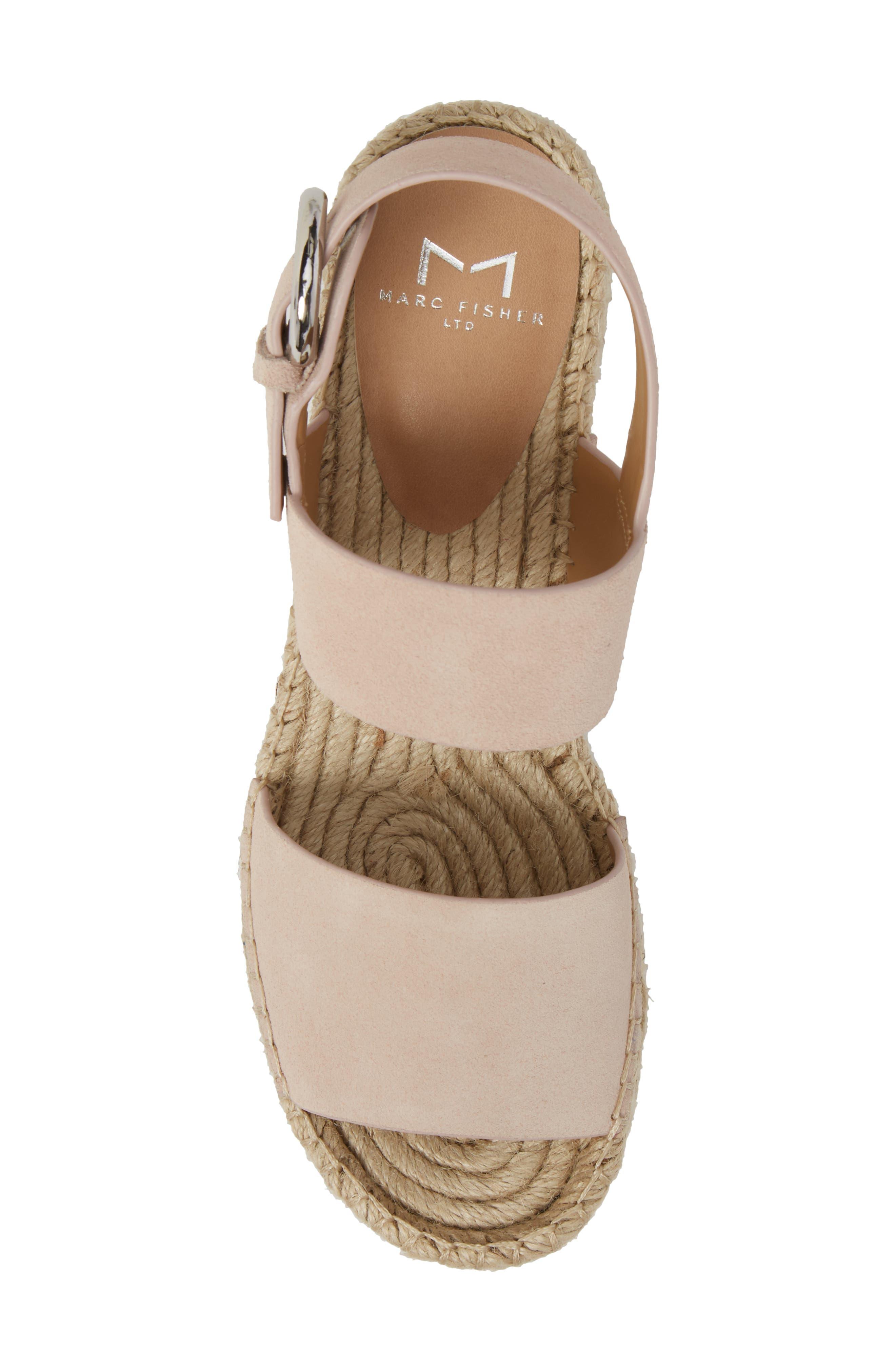 Alternate Image 5  - Marc Fisher LTD Renni Espadrille Platform Wedge Sandal (Women)
