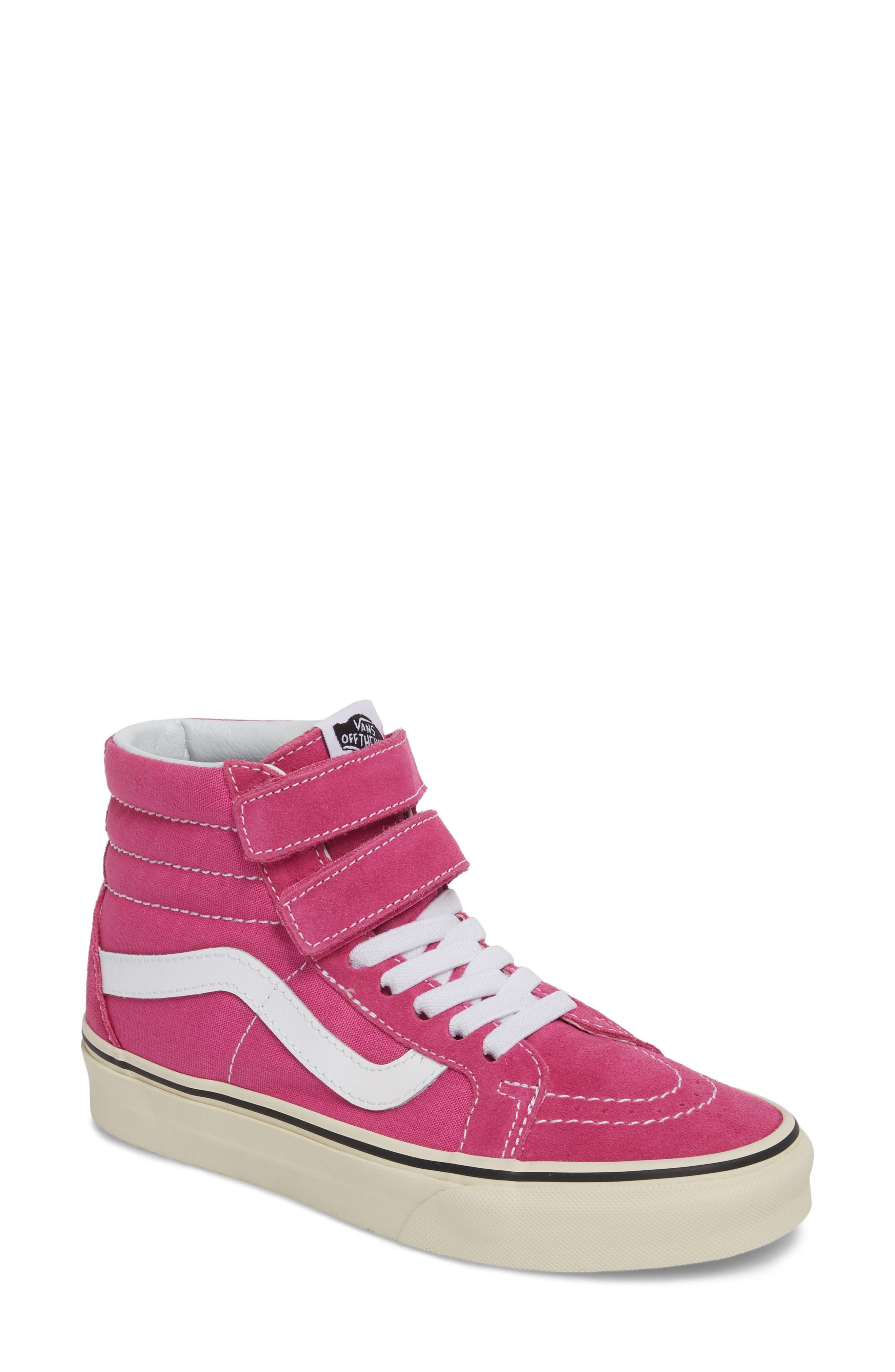 Sk8-Hi Reissue Sneaker,                             Main thumbnail 1, color,                             Raspberry Rose/ Turtledove